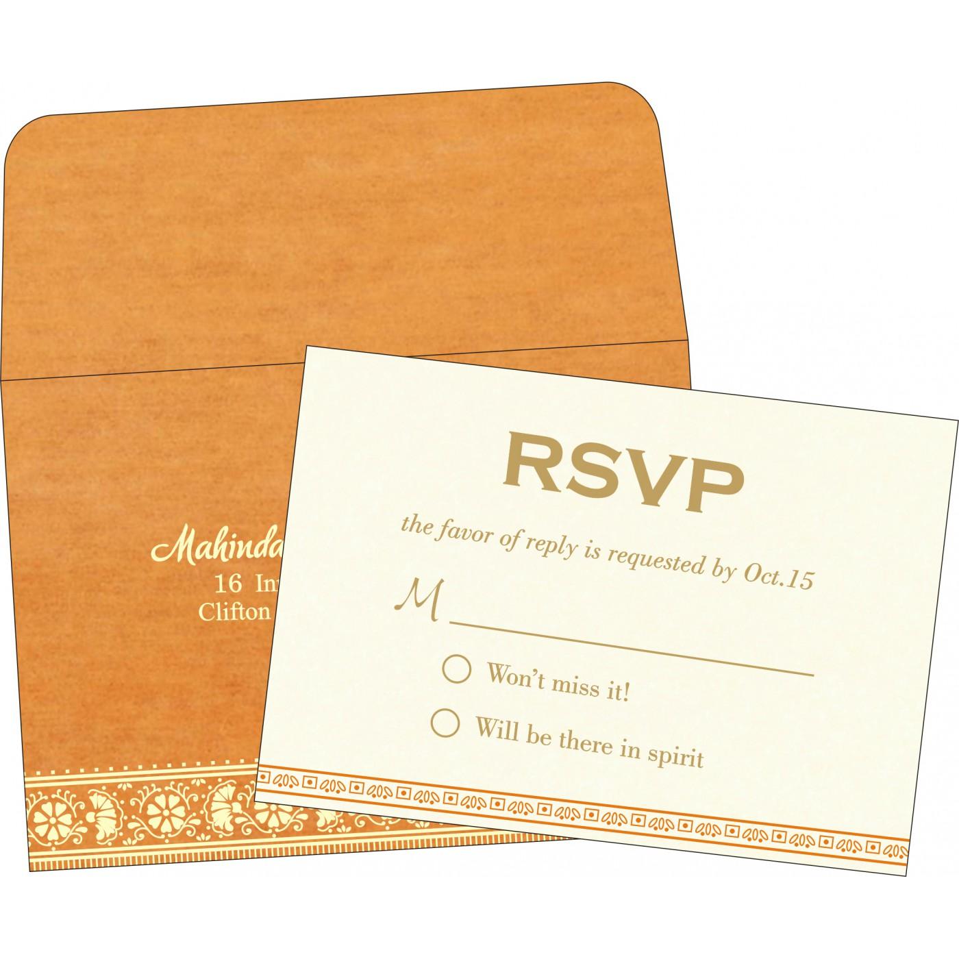 RSVP Cards : RSVP-8242Q - 123WeddingCards