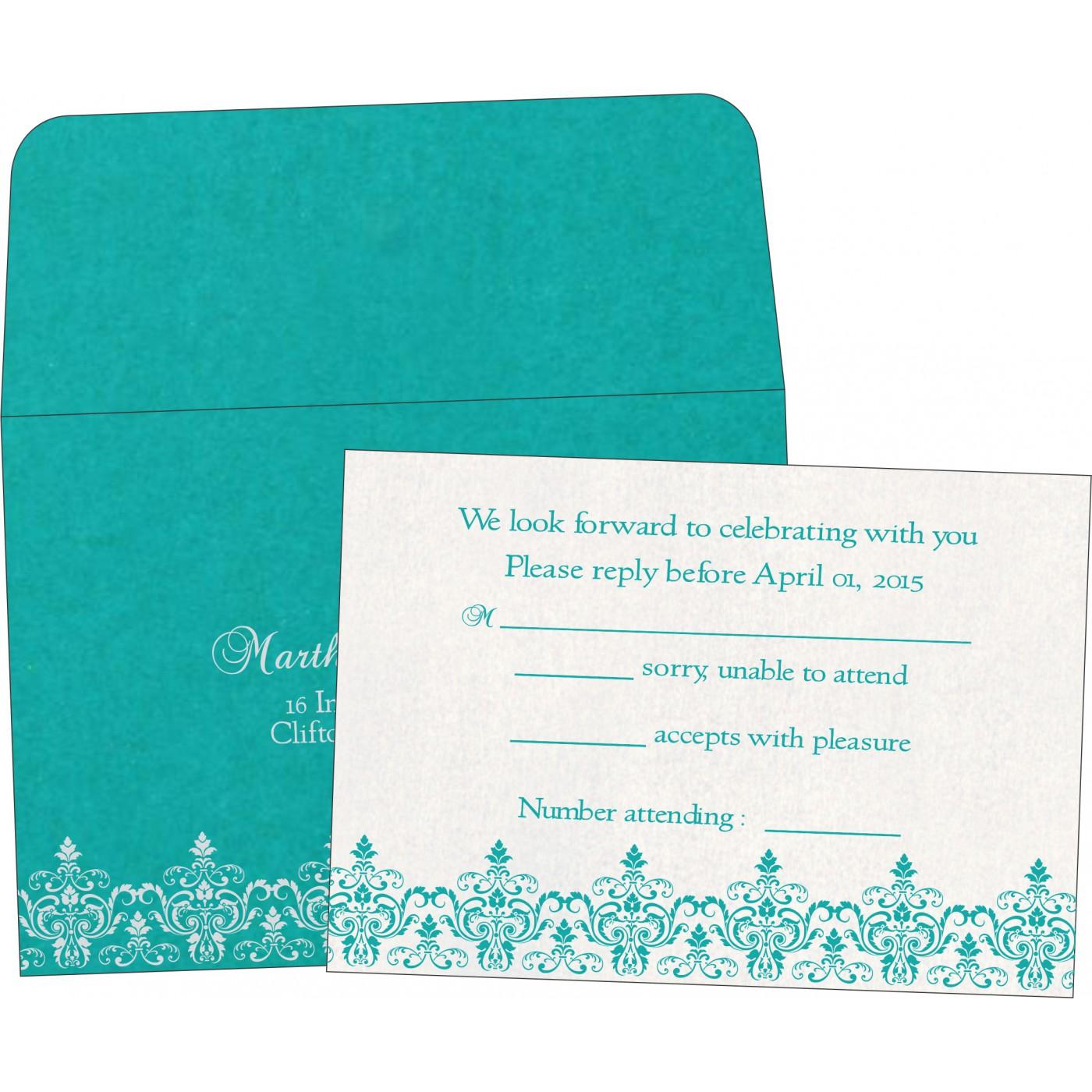 RSVP Cards : RSVP-8244C - 123WeddingCards