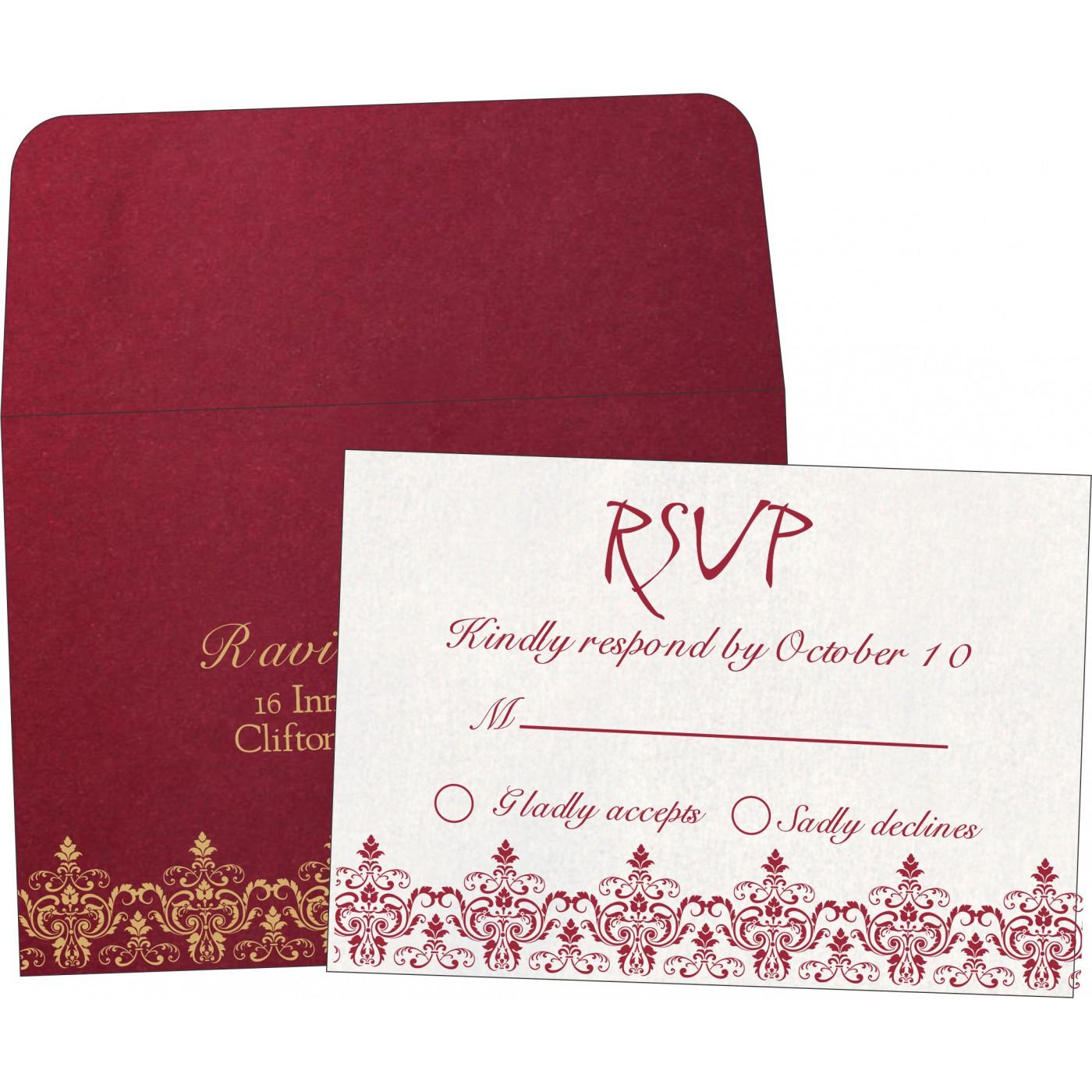 RSVP Cards : RSVP-8244E - 123WeddingCards