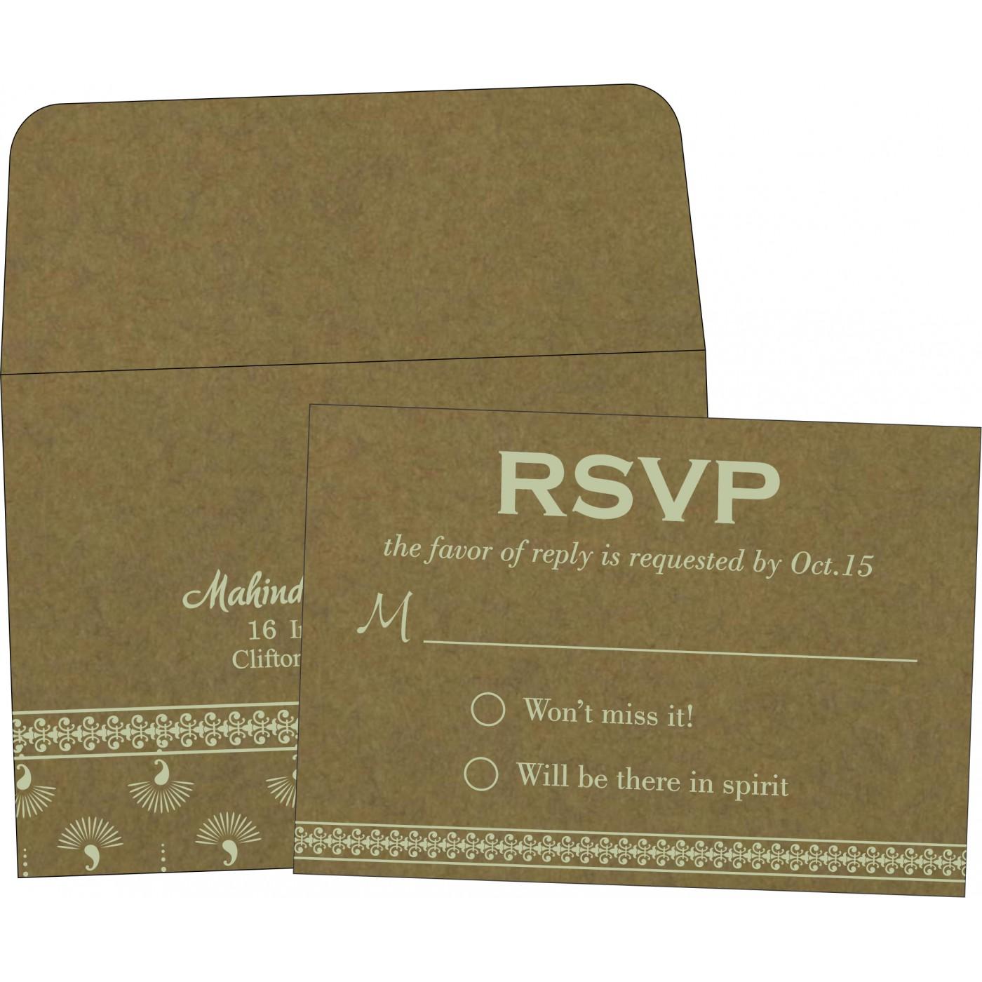RSVP Cards : RSVP-8247E - 123WeddingCards