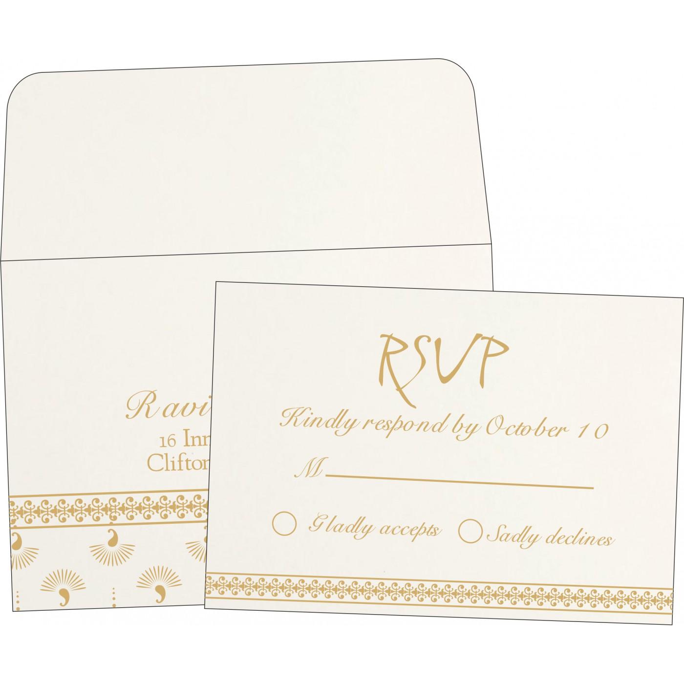 RSVP Cards : RSVP-8247M - 123WeddingCards