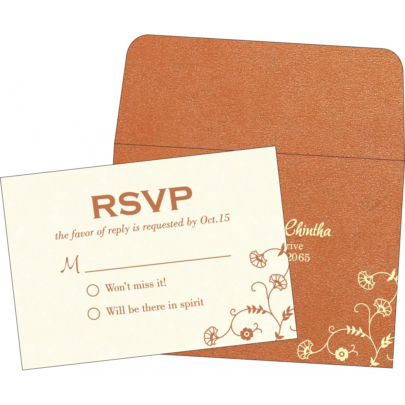 RSVP Cards : RSVP-8248E - 123WeddingCards