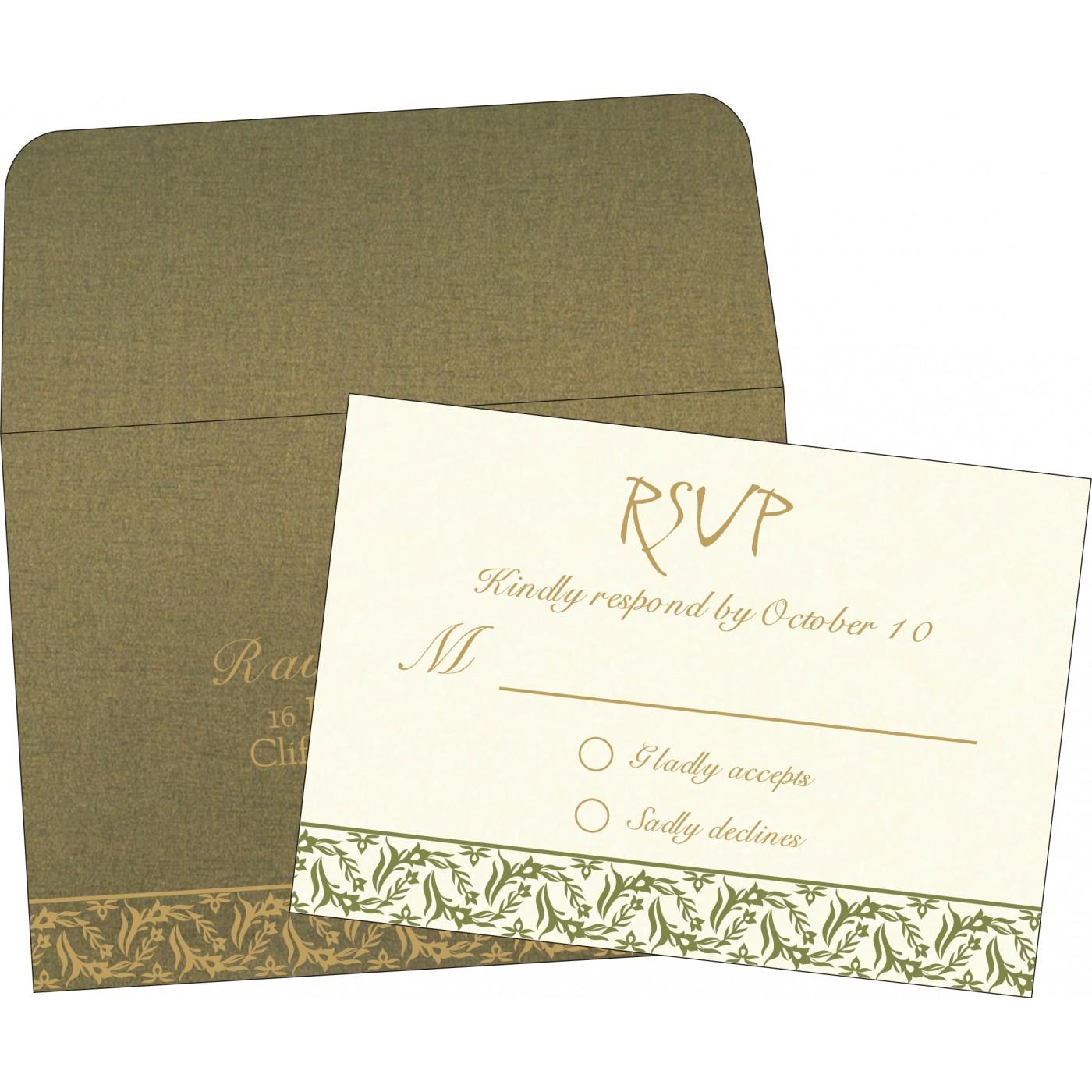 RSVP Cards : RSVP-8249E - 123WeddingCards