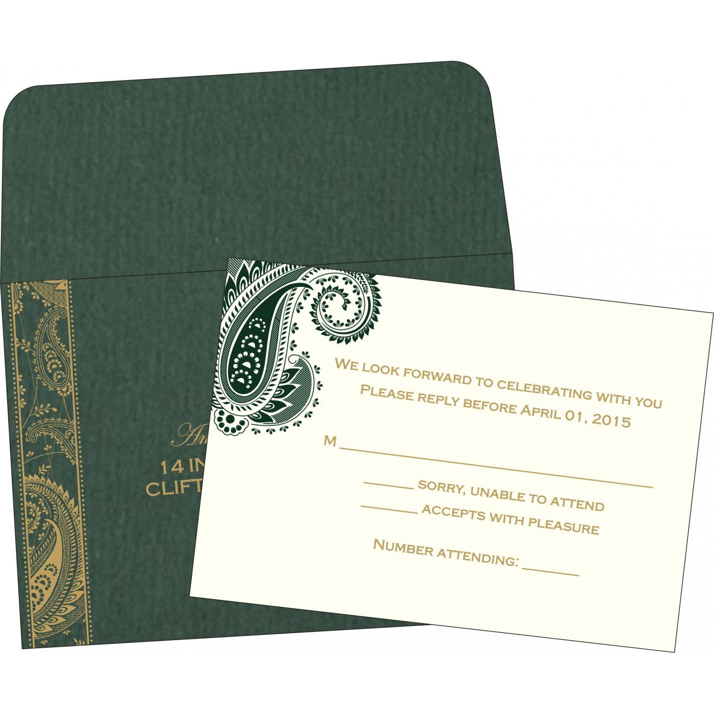 RSVP Cards : RSVP-8250C - 123WeddingCards