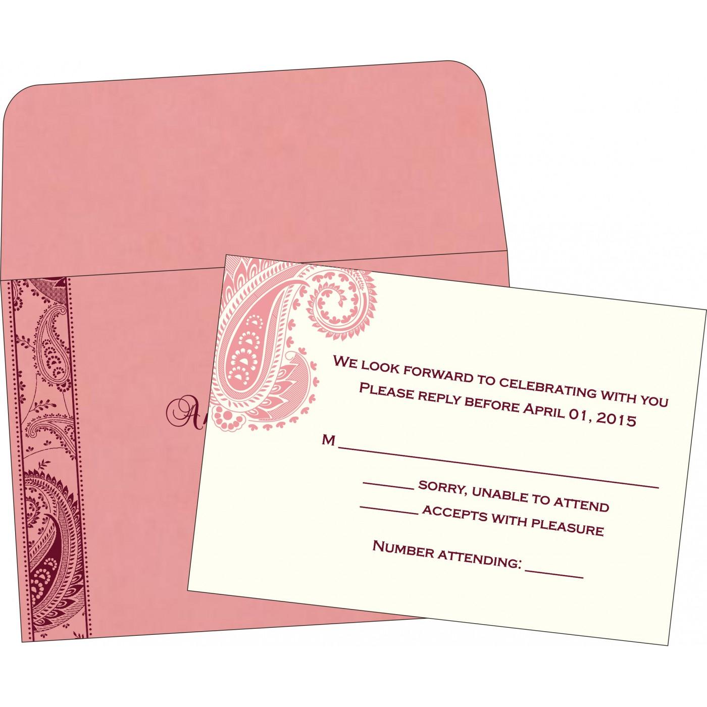 RSVP Cards : RSVP-8250F - 123WeddingCards