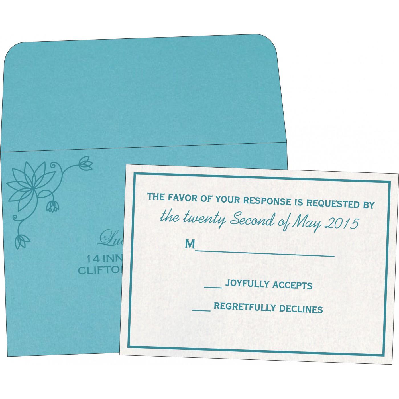 RSVP Cards : RSVP-8251G - 123WeddingCards