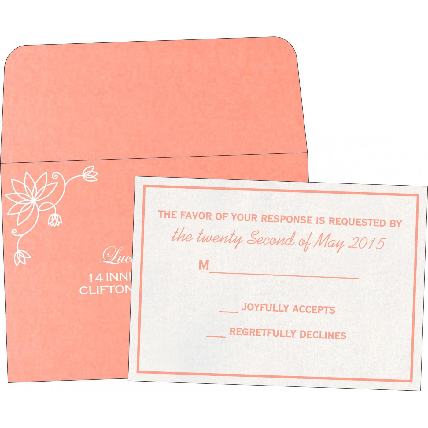 RSVP Cards : RSVP-8251I - 123WeddingCards