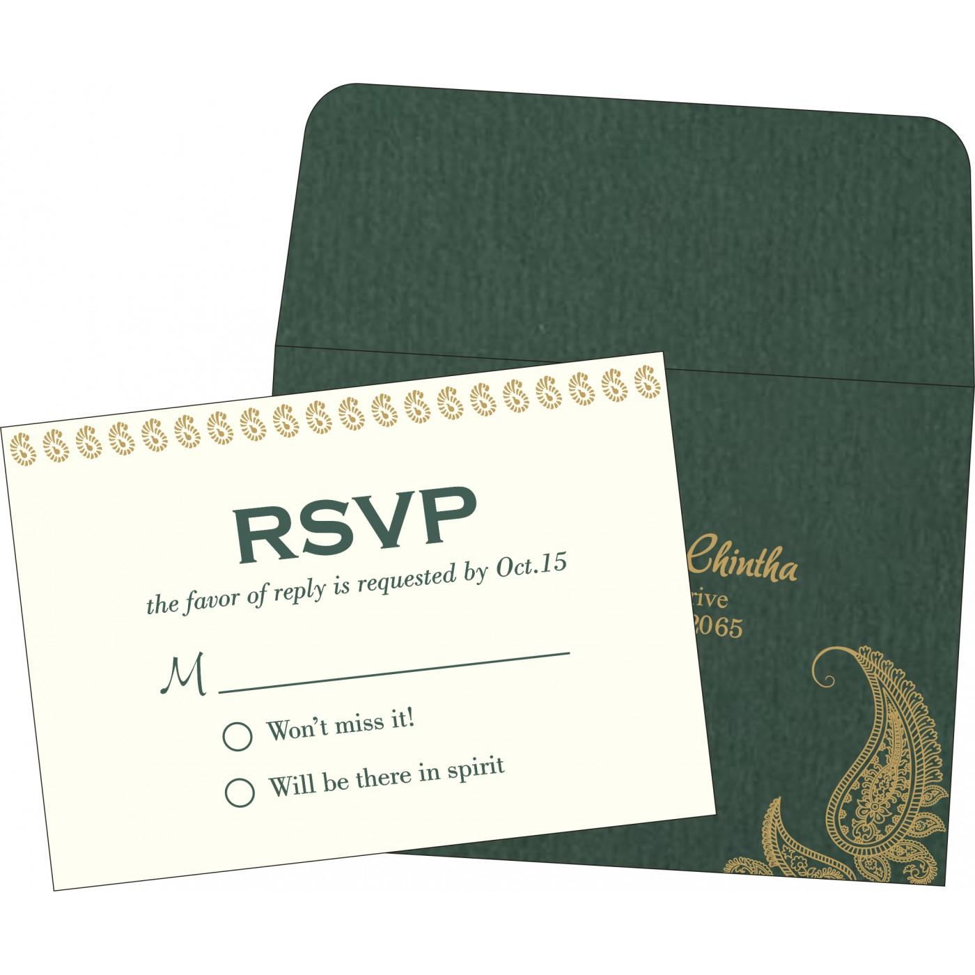 RSVP Cards : RSVP-8252E - 123WeddingCards