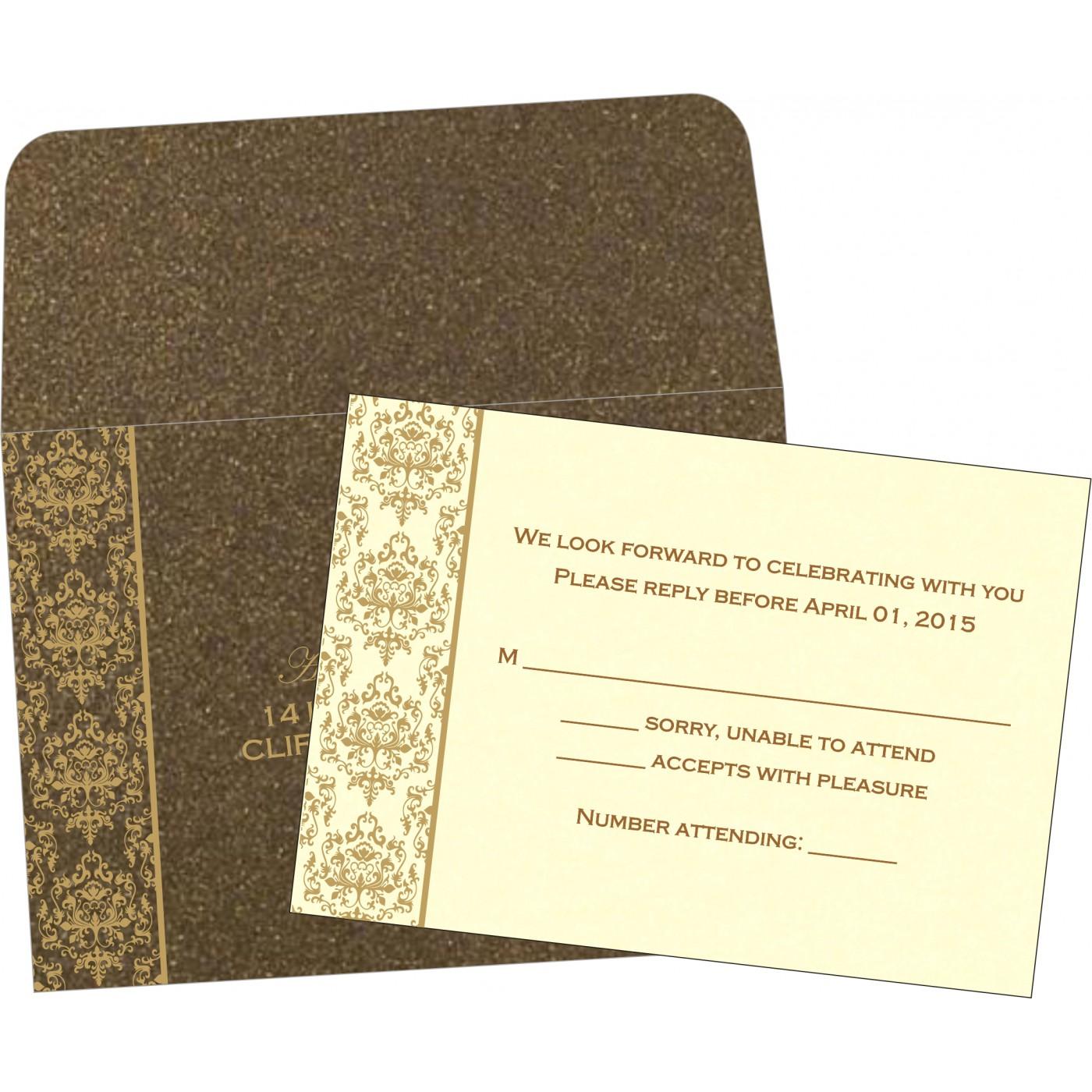 RSVP Cards : RSVP-8253A - 123WeddingCards