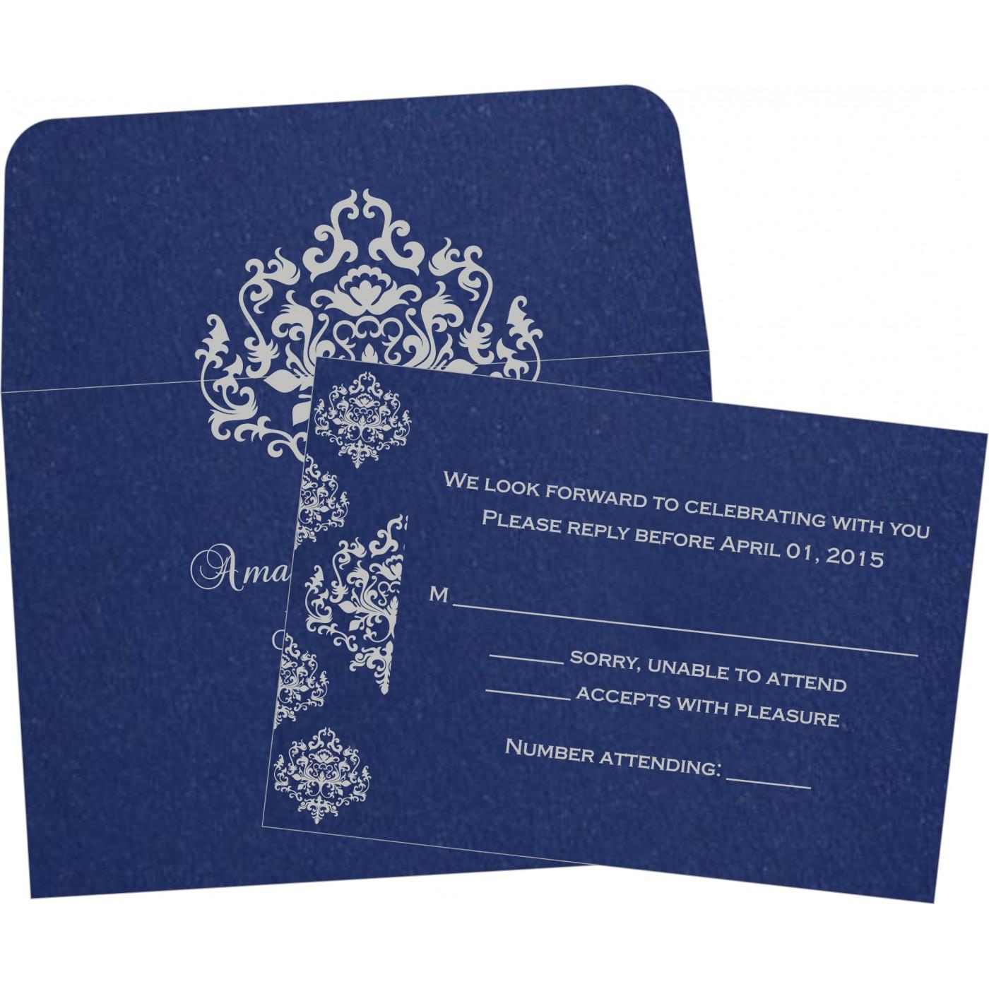 RSVP Cards : RSVP-8254C - 123WeddingCards