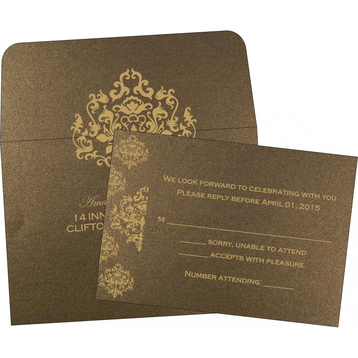 RSVP Cards : RSVP-8254F - 123WeddingCards