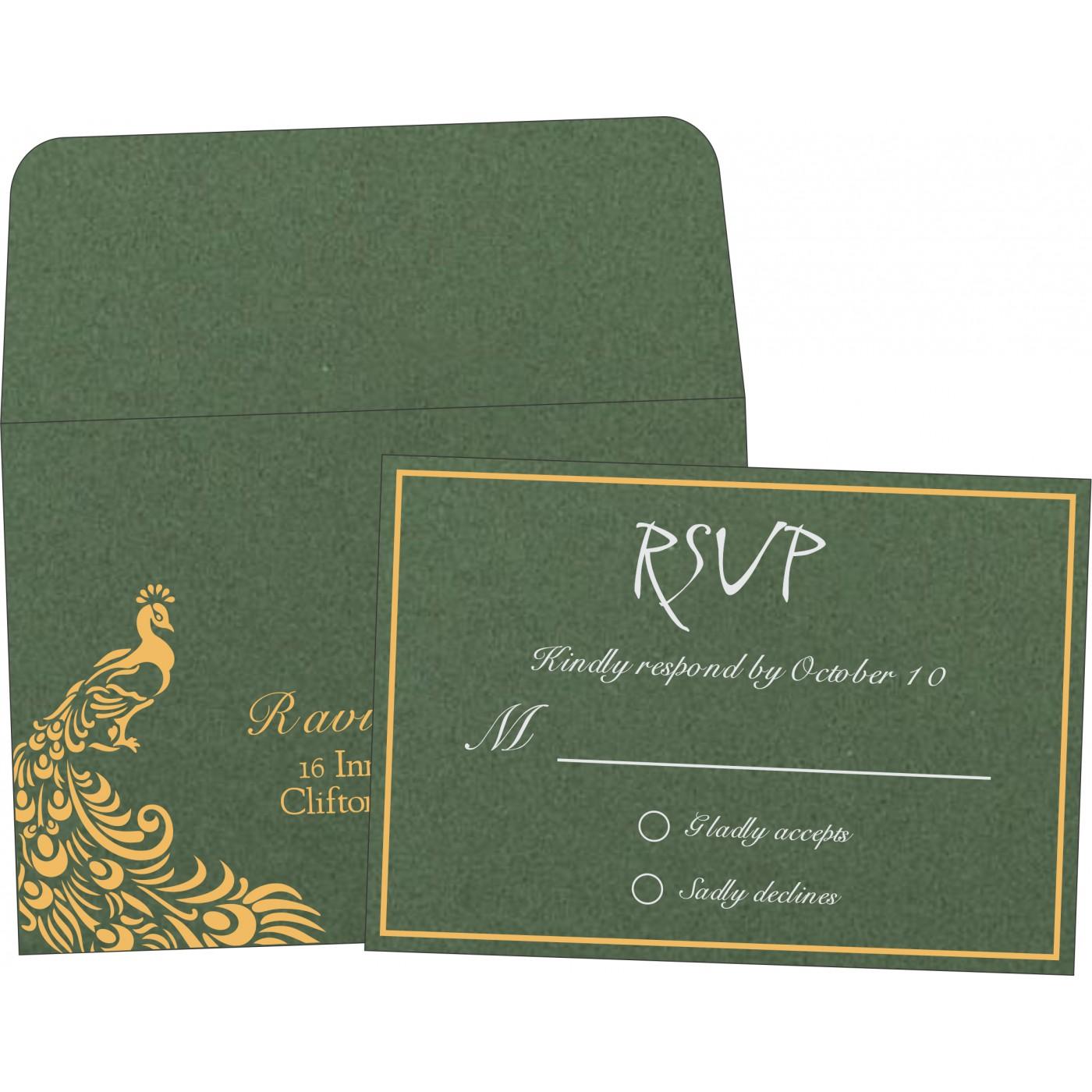 RSVP Cards : RSVP-8255D - 123WeddingCards