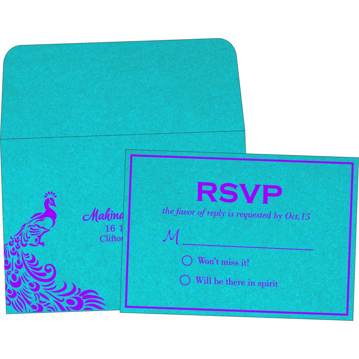 RSVP Cards : RSVP-8255E - 123WeddingCards