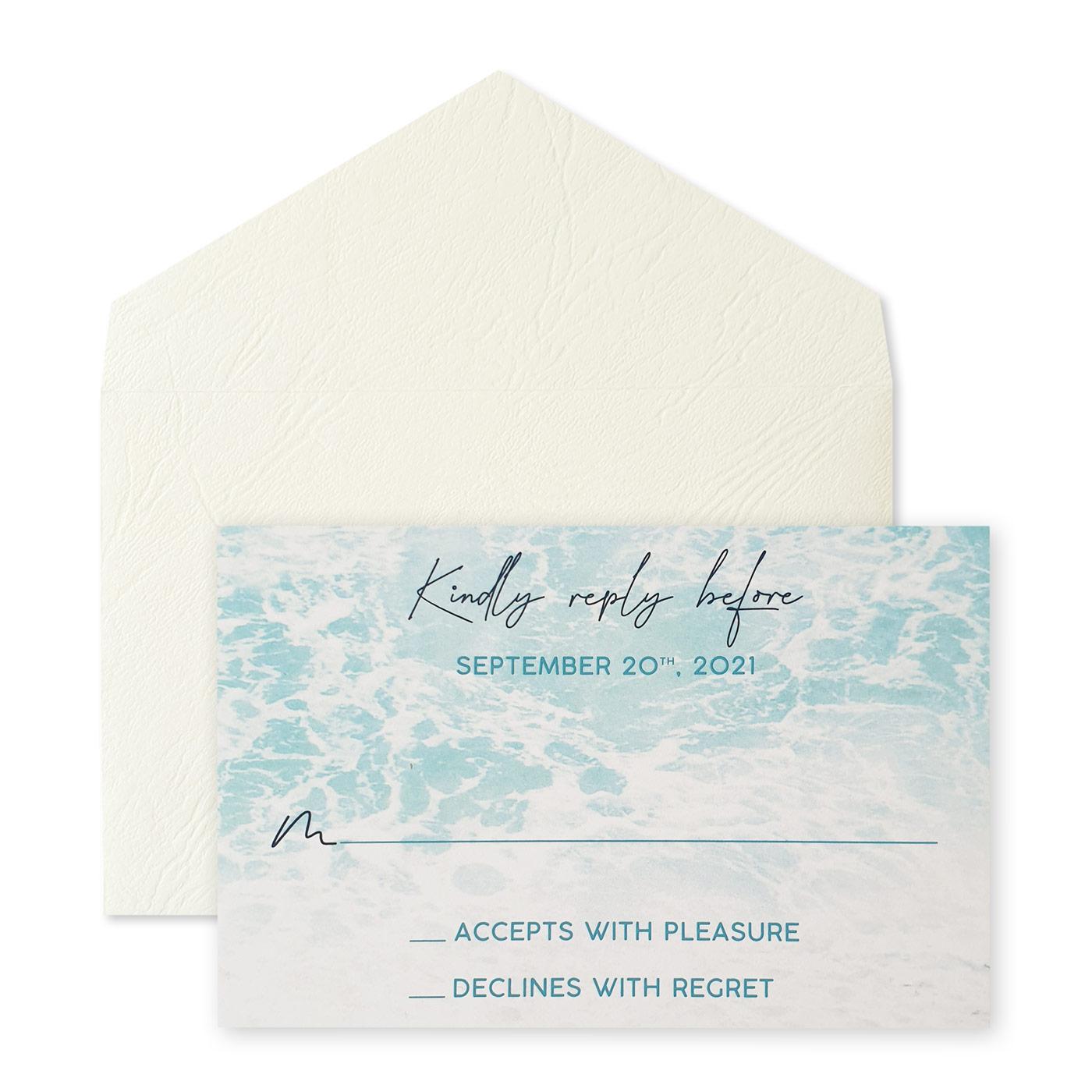 RSVP Cards : CRSVP OCEAN_SPRAY