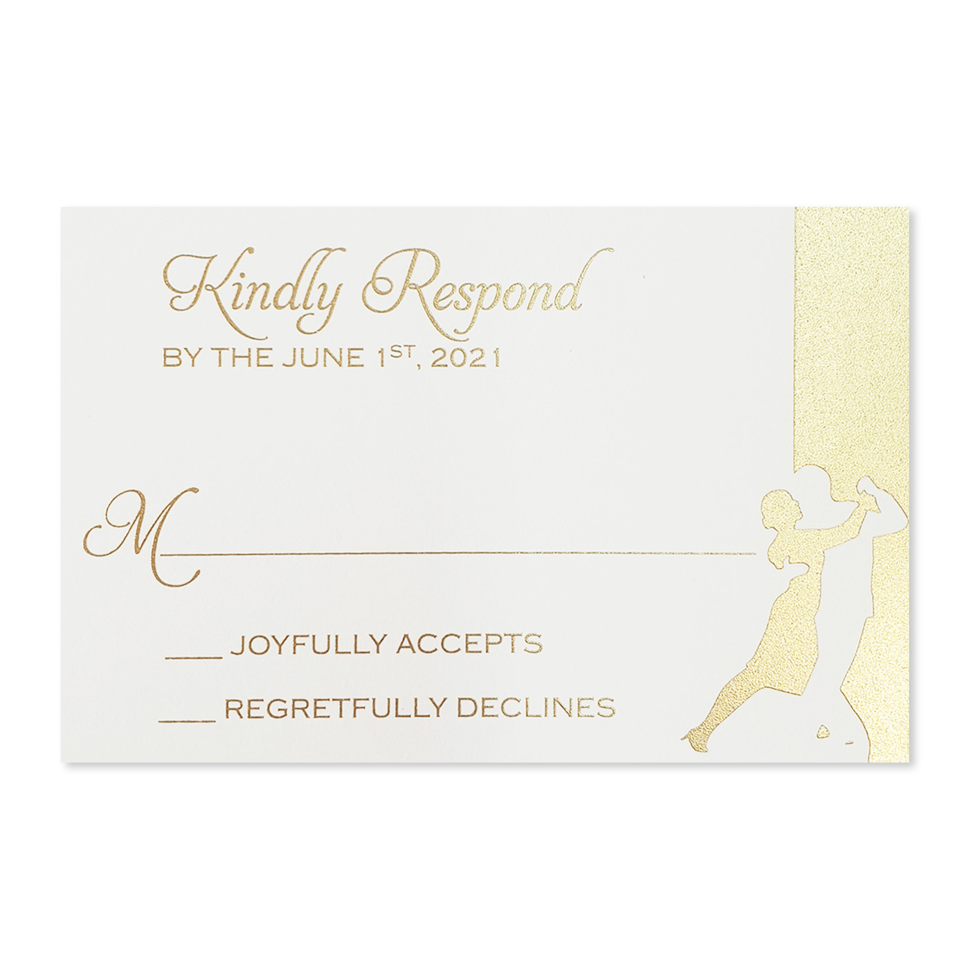 RSVP Cards : RSVP-SHINY_DANCING_STARS - 123WeddingCards
