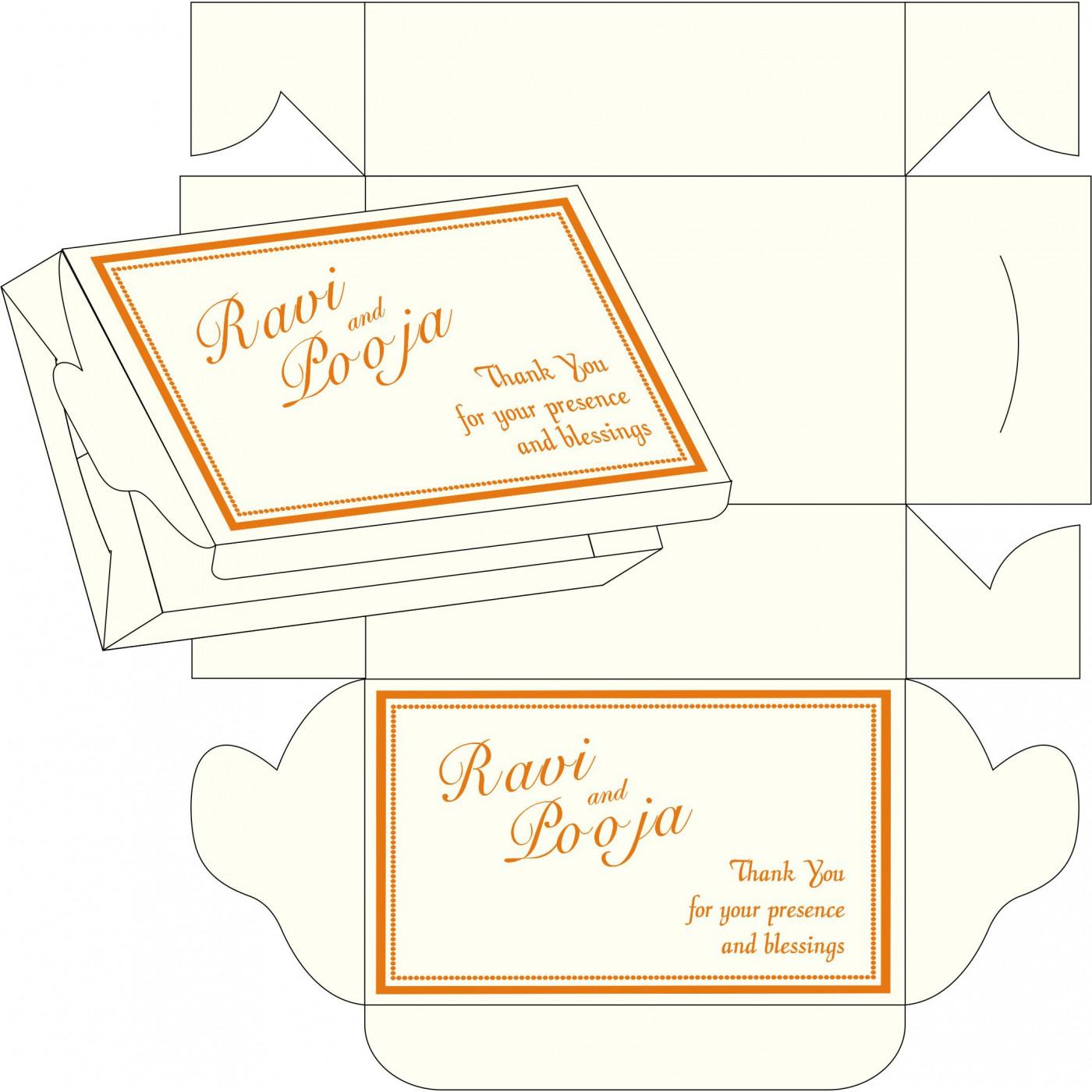 Cake Sweet Boxes : SB-1183 - 123WeddingCards