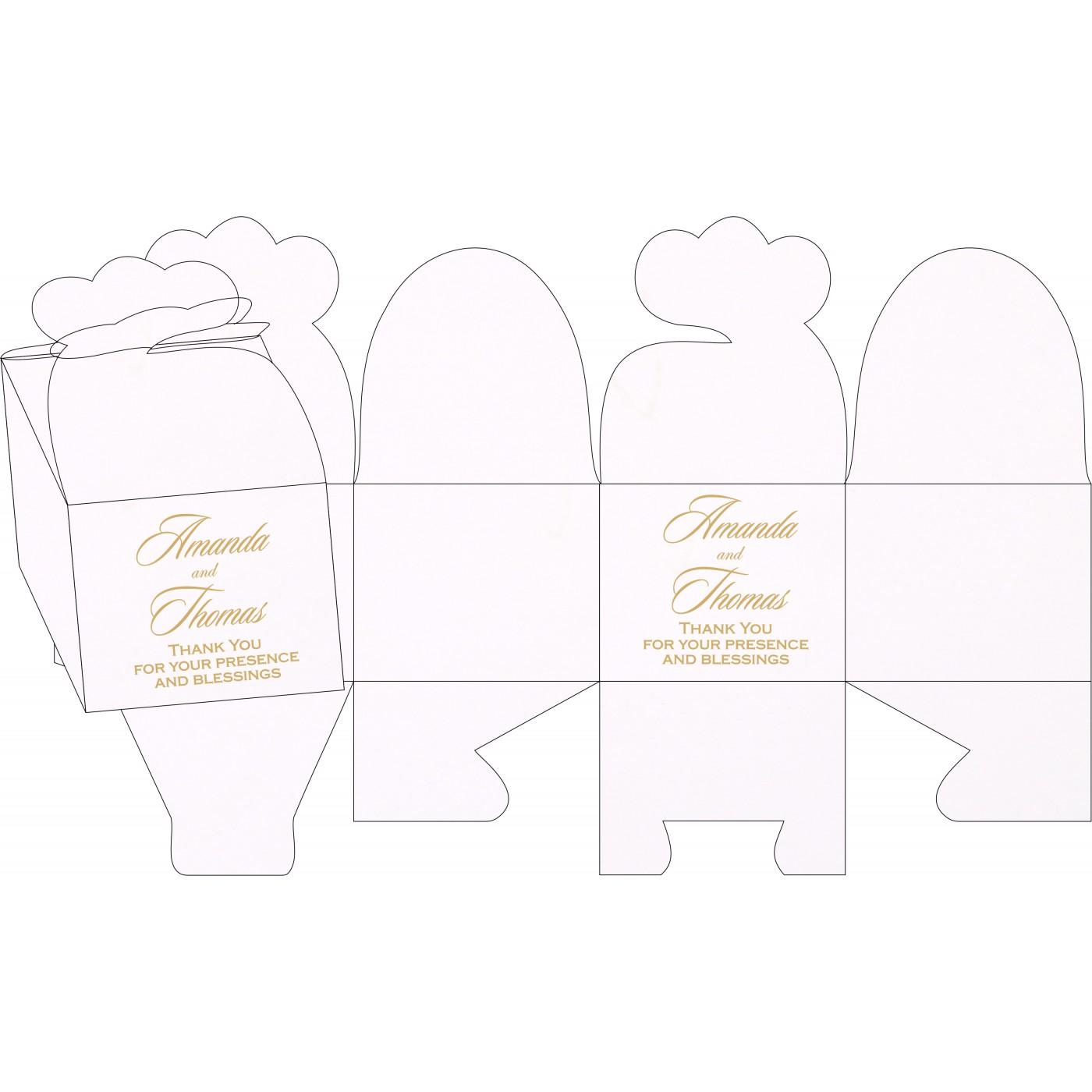 Cake Sweet Boxes : SB-1228 - 123WeddingCards
