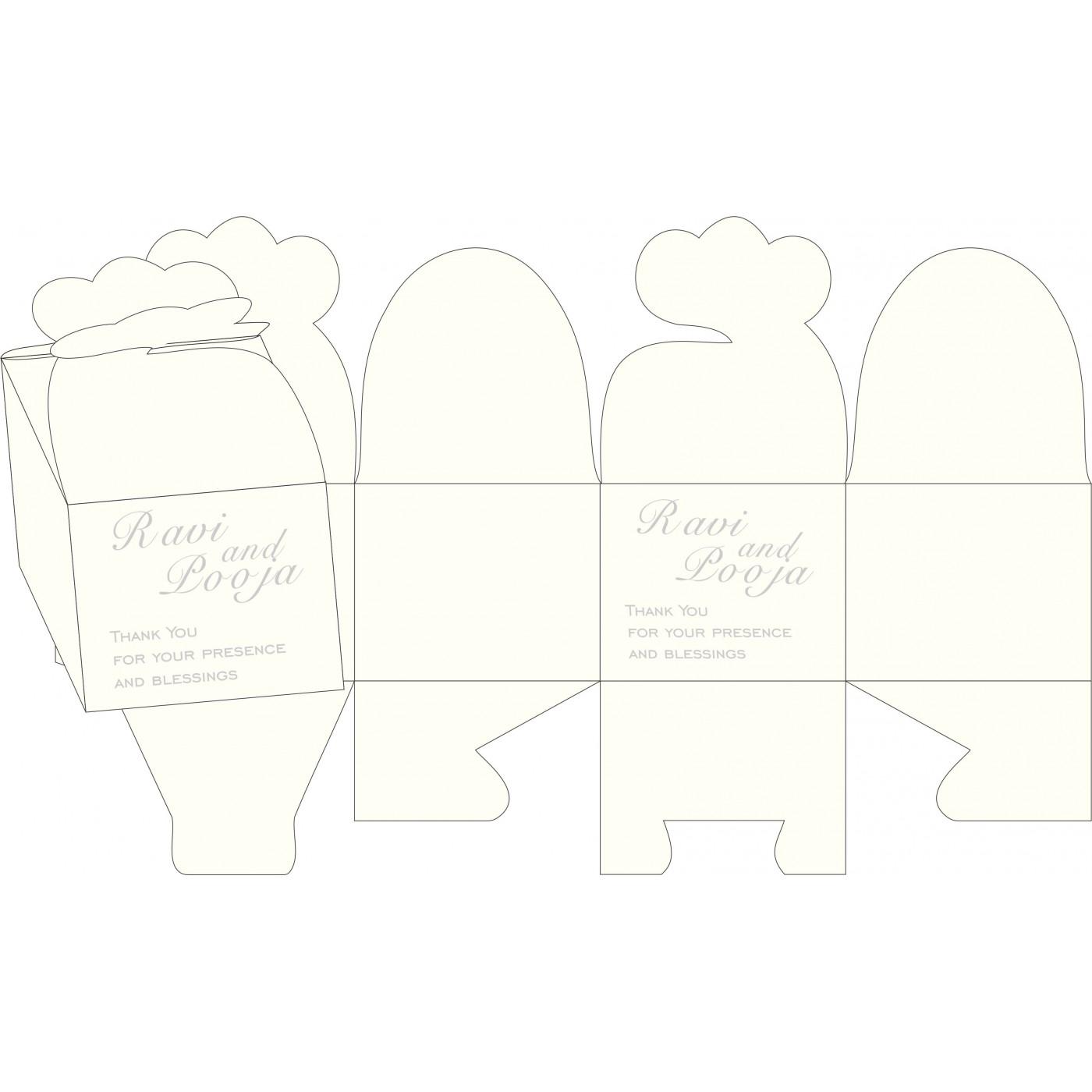 Cake Sweet Boxes : SB-1325 - 123WeddingCards