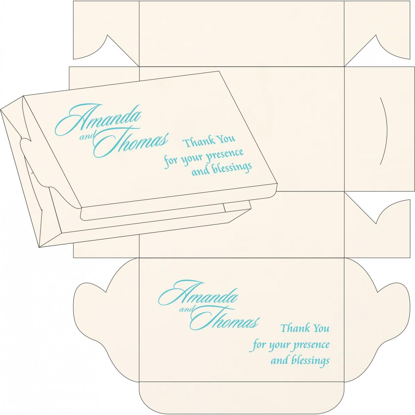 Cake Sweet Boxes : SB-1338 - 123WeddingCards