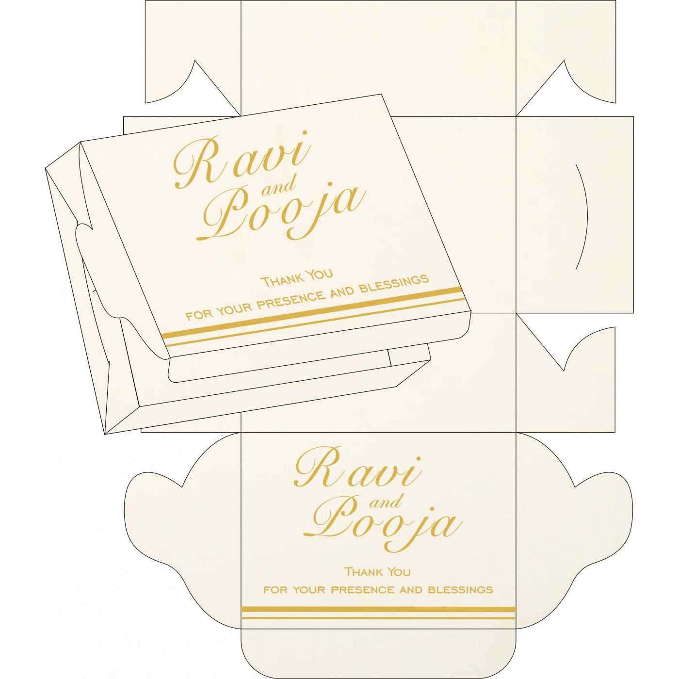 Cake Sweet Boxes : SB-1350 - 123WeddingCards