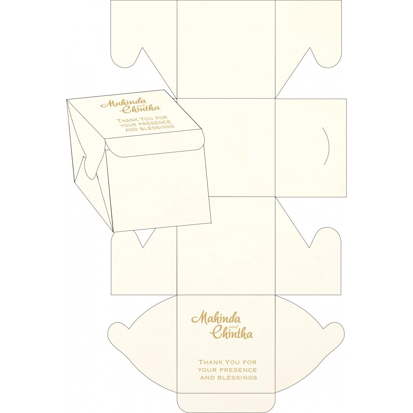 Cake Sweet Boxes : SB-1351 - 123WeddingCards