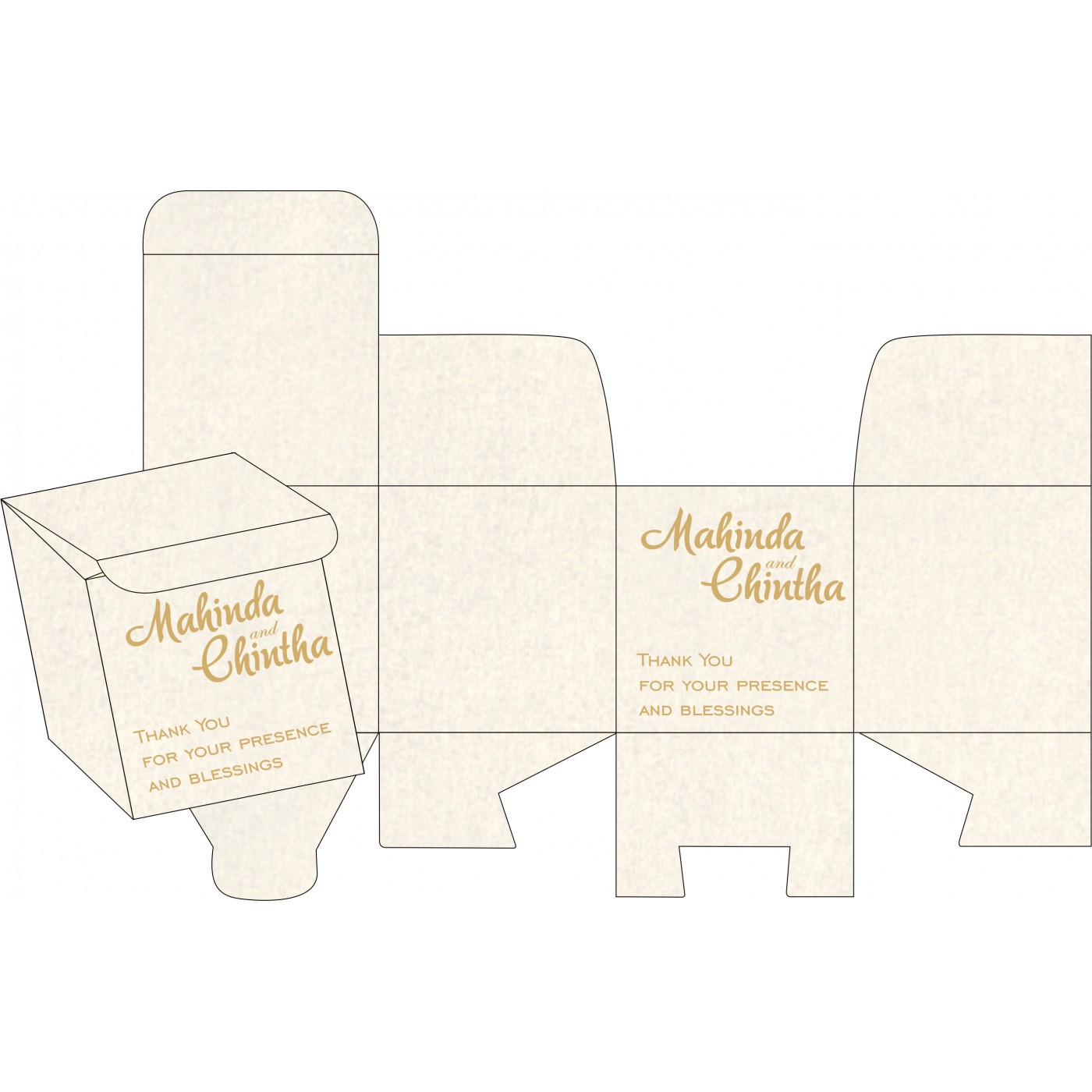 Cake Sweet Boxes : SB-1372 - 123WeddingCards