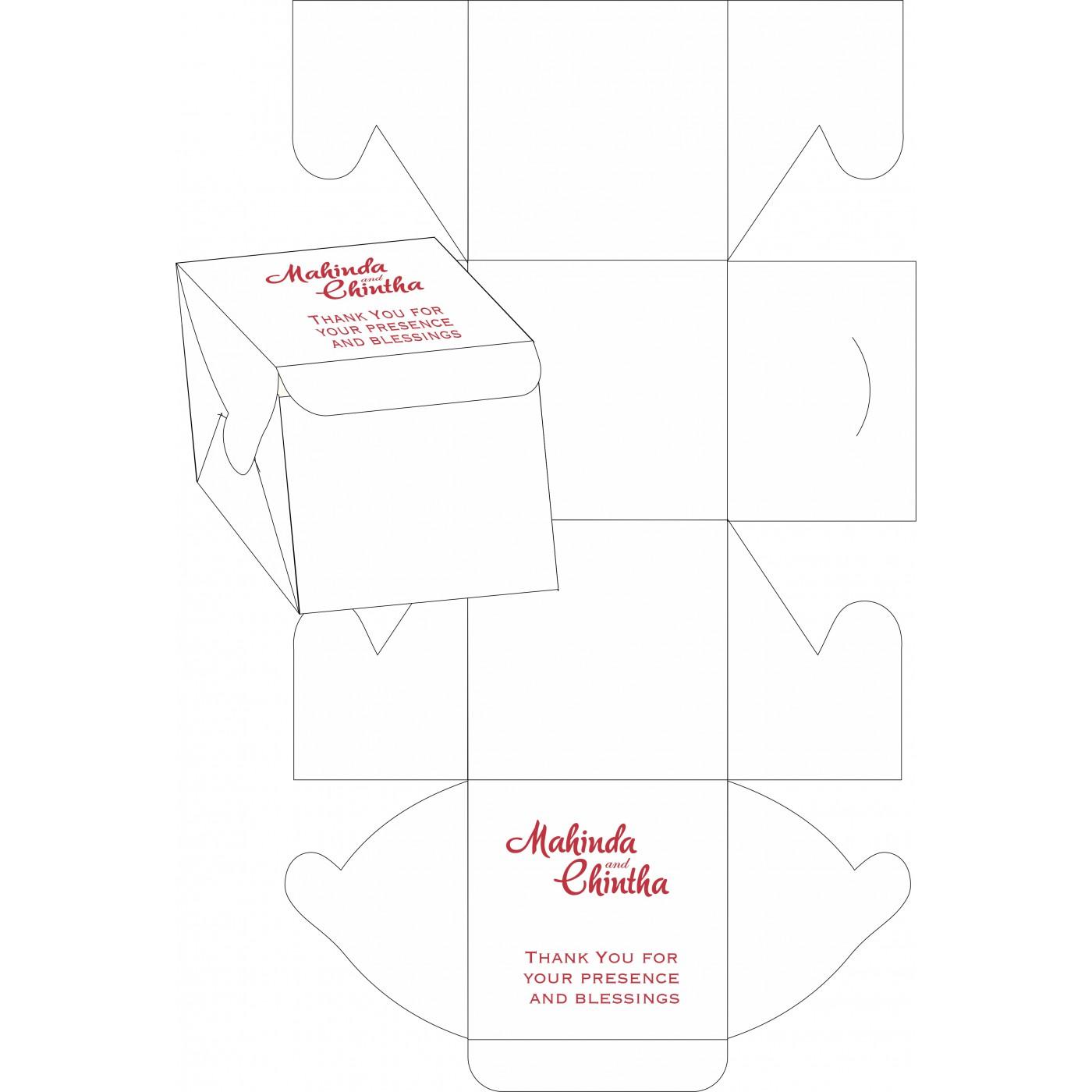 Cake Sweet Boxes : SB-1396 - 123WeddingCards
