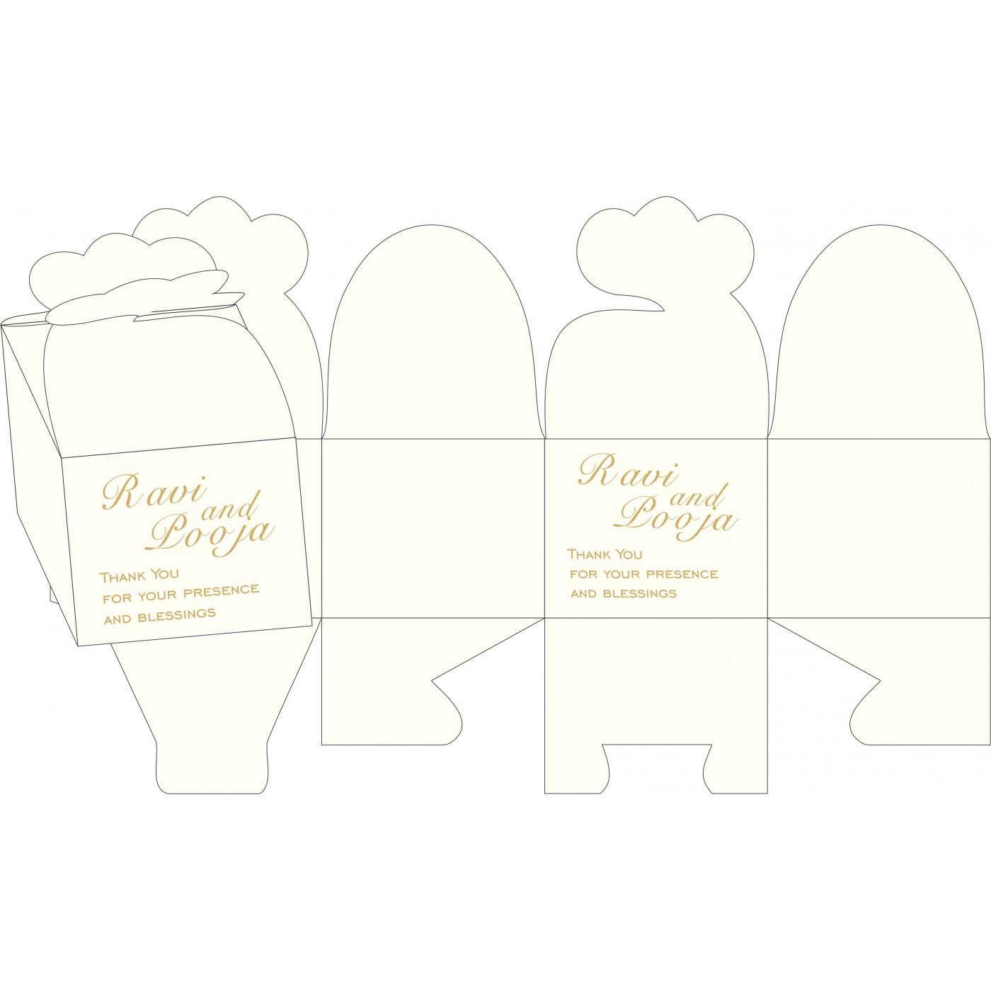 Cake Sweet Boxes : SB-1405 - 123WeddingCards