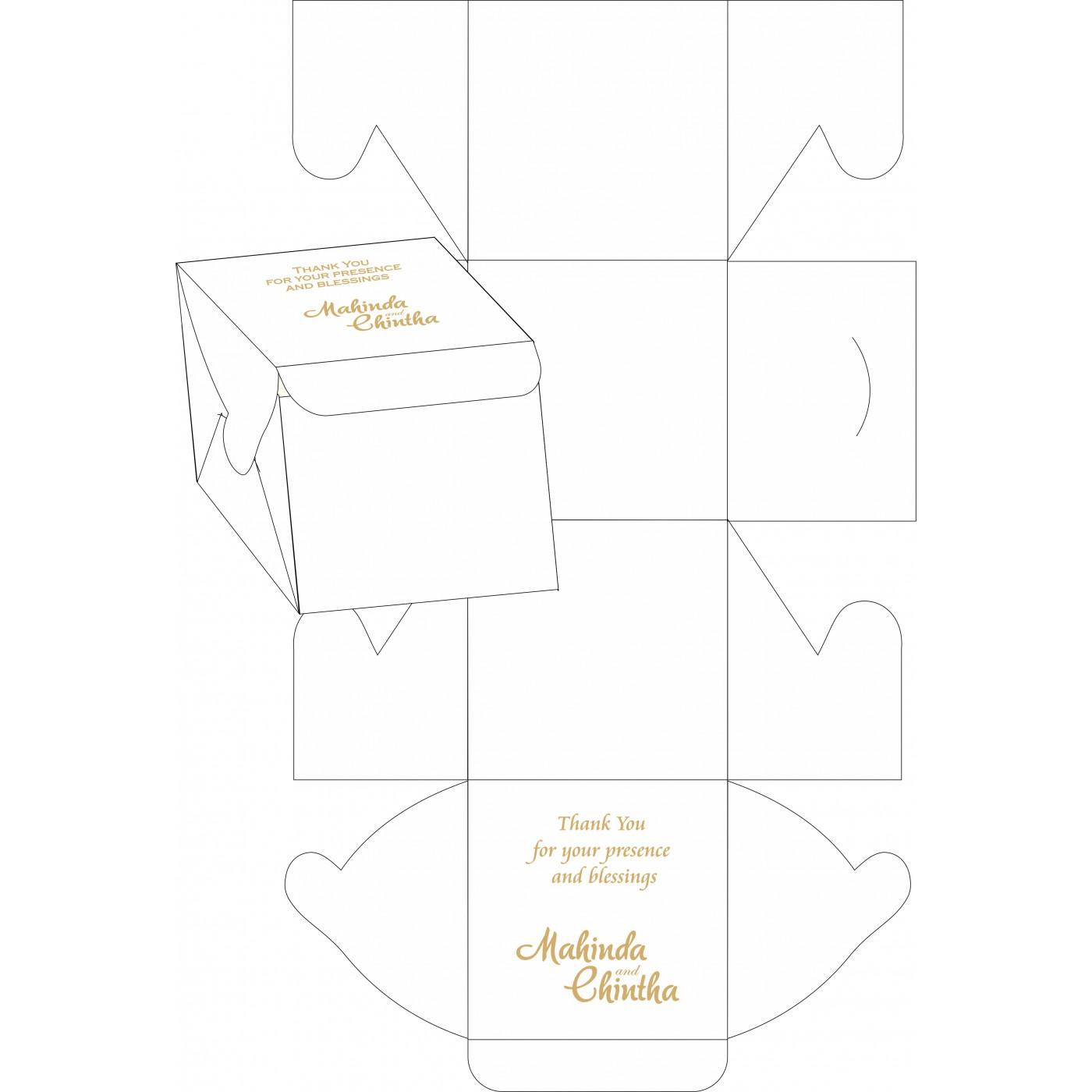 Cake Sweet Boxes : SB-1495 - 123WeddingCards