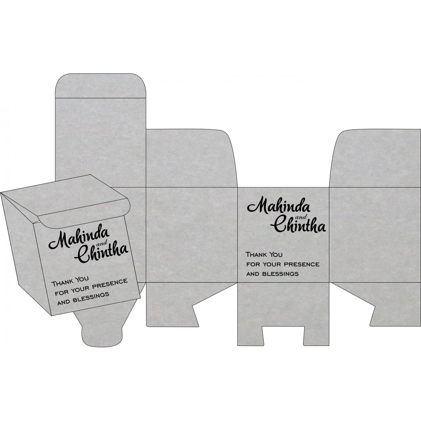 Cake Sweet Boxes : SB-1498 - 123WeddingCards