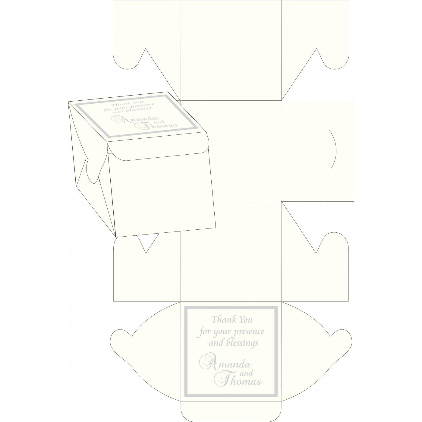 Cake Sweet Boxes : SB-2068 - 123WeddingCards