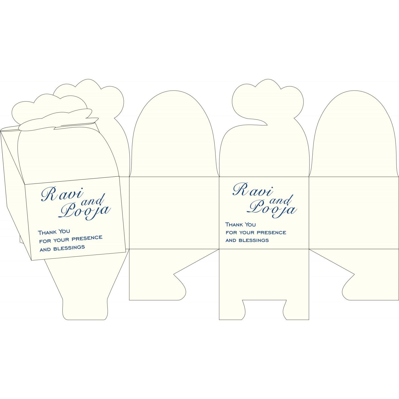 Cake Sweet Boxes : SB-2109 - 123WeddingCards