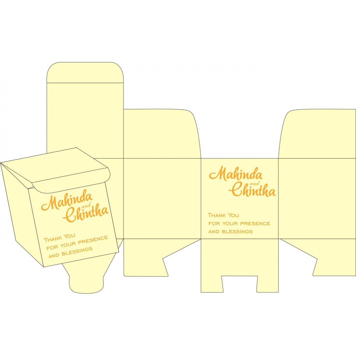 Cake Sweet Boxes : SB-2111 - 123WeddingCards