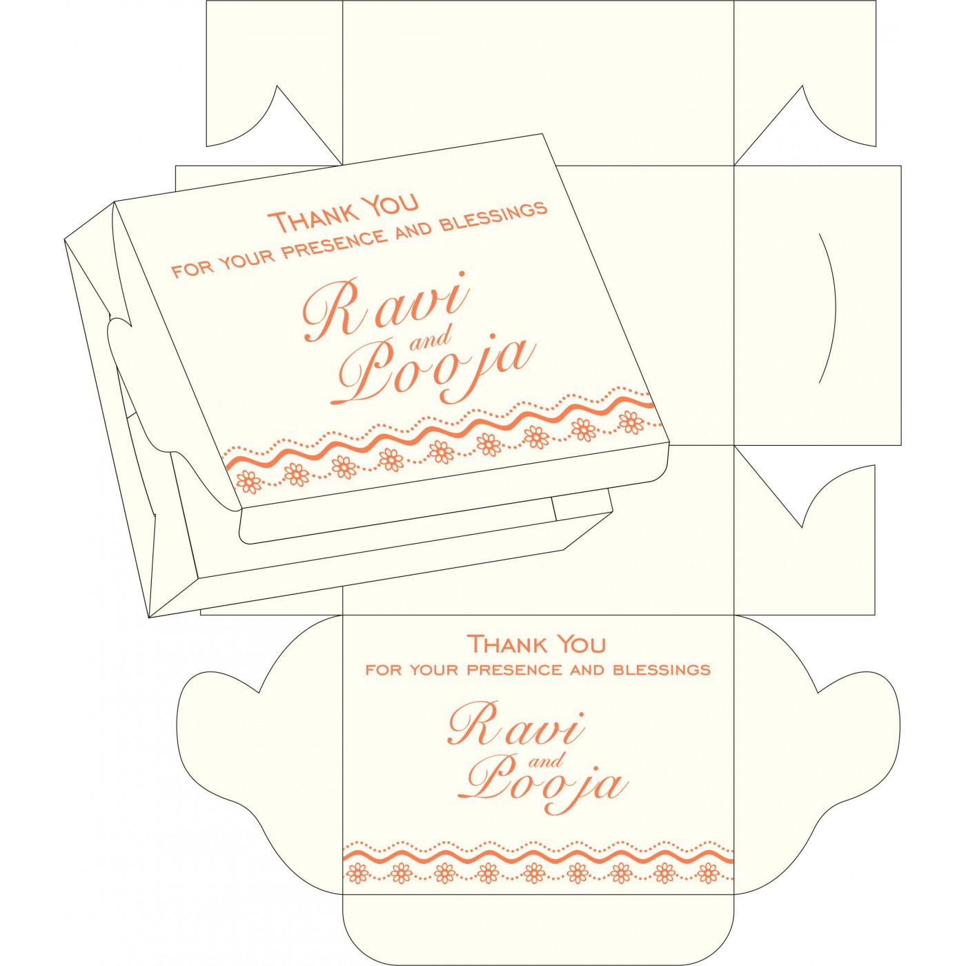 Cake Sweet Boxes : SB-2214 - 123WeddingCards