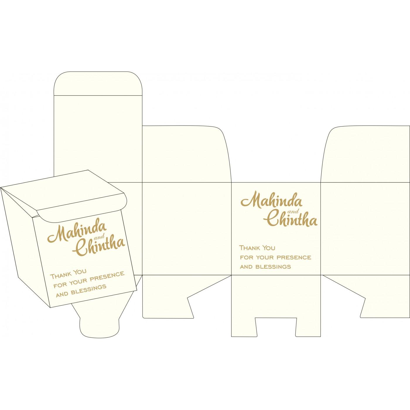 Cake Sweet Boxes : SB-2238 - 123WeddingCards