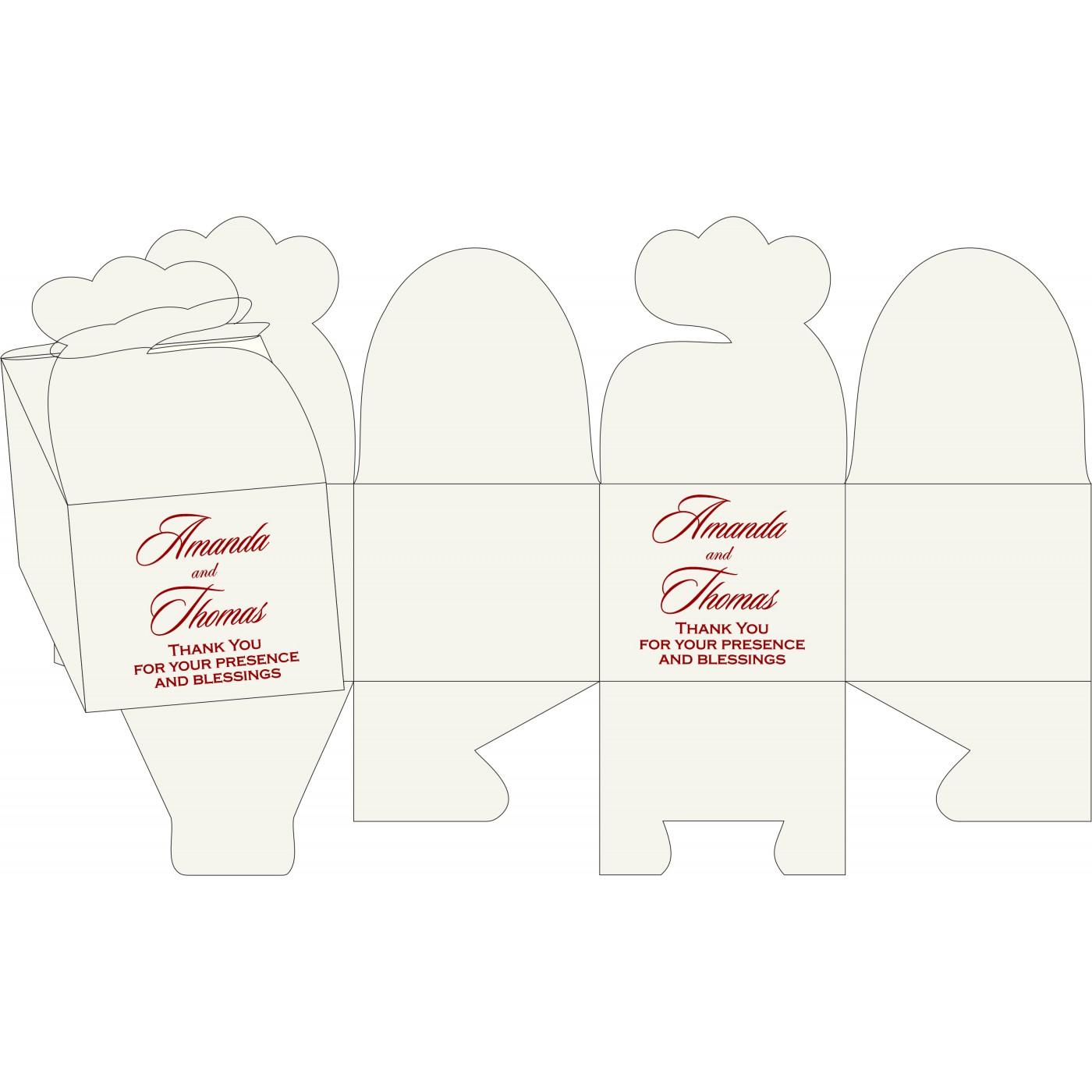 Cake Sweet Boxes : SB-5015M - 123WeddingCards
