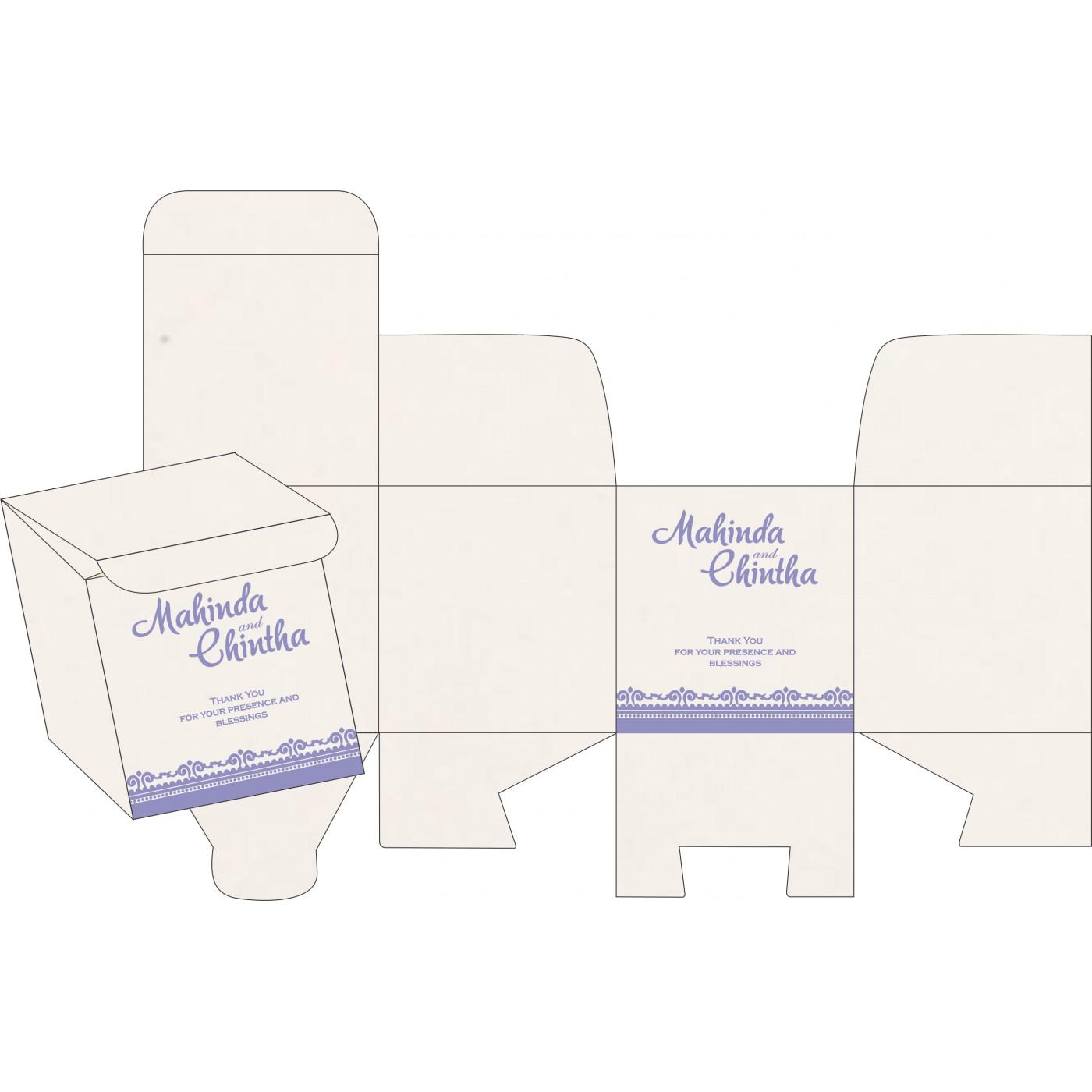 Cake Sweet Boxes : SB-8205F - 123WeddingCards