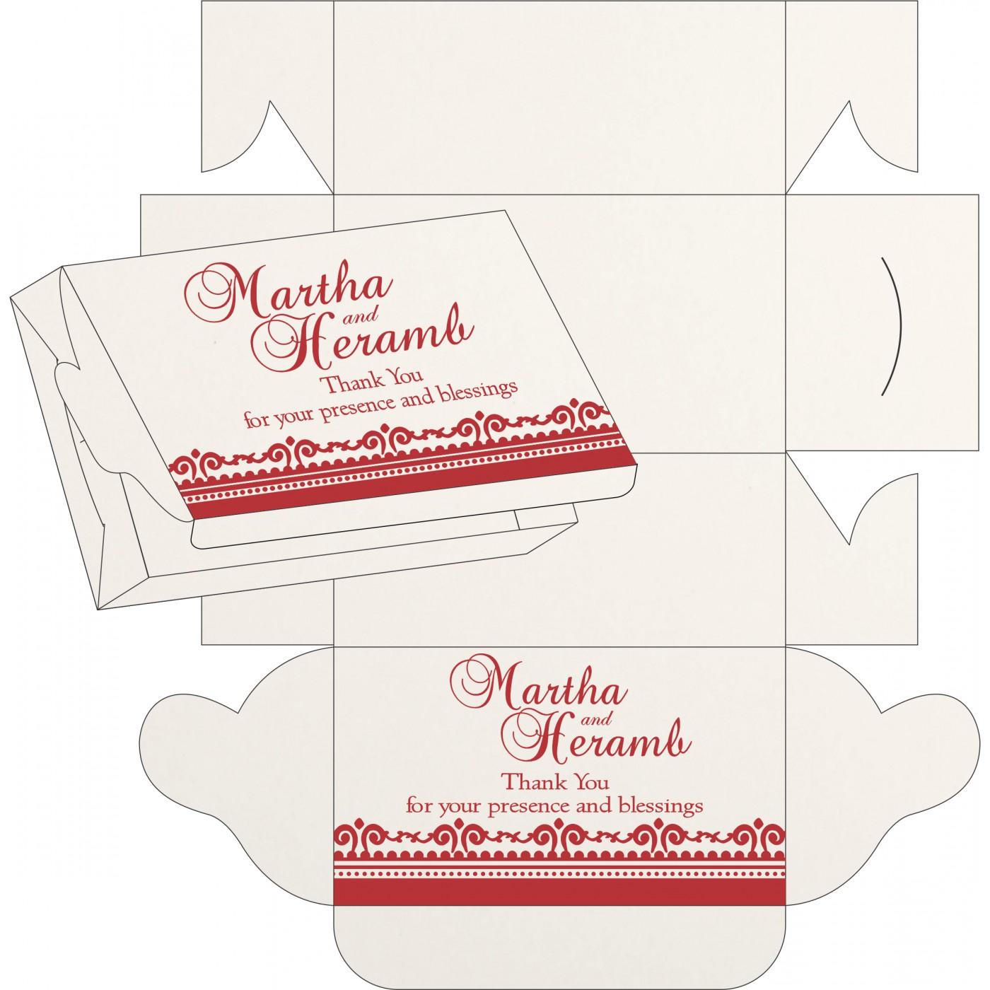 Cake Sweet Boxes : SB-8205J - 123WeddingCards