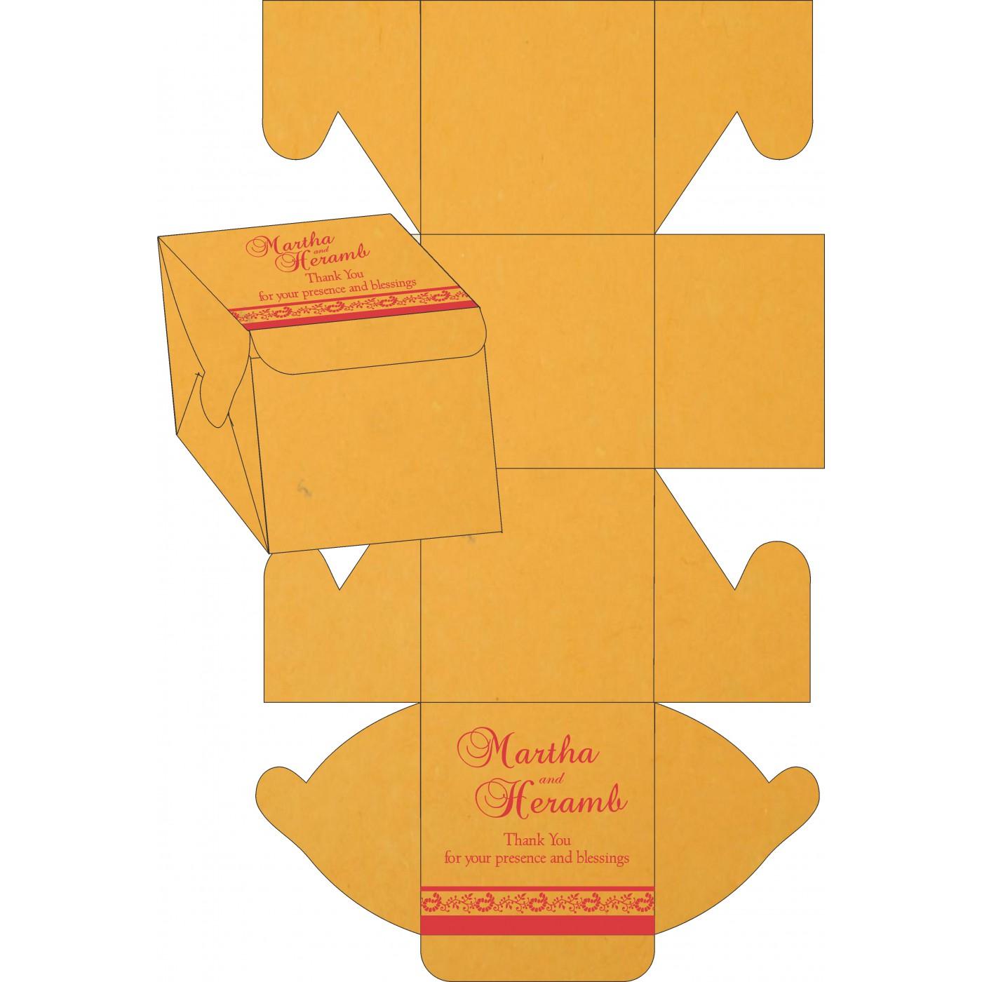 Cake Sweet Boxes : SB-8208C - 123WeddingCards