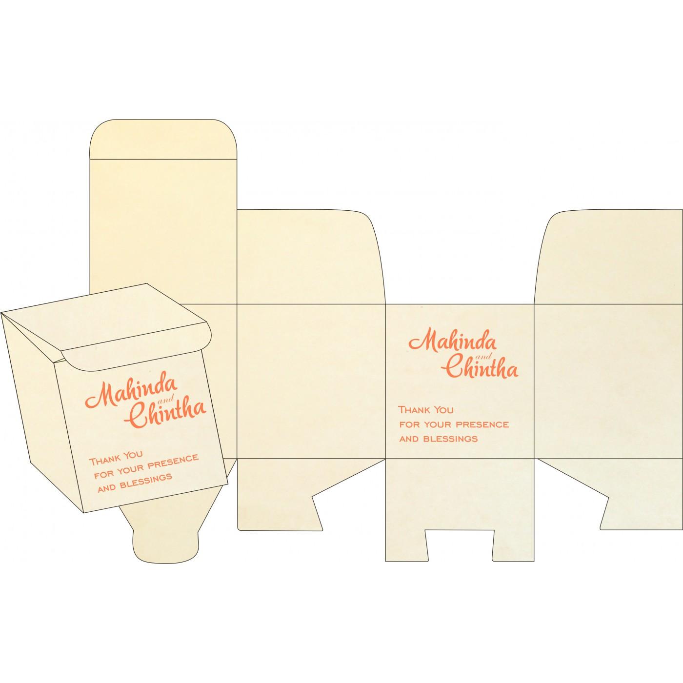 Cake Sweet Boxes : SB-8211F - 123WeddingCards