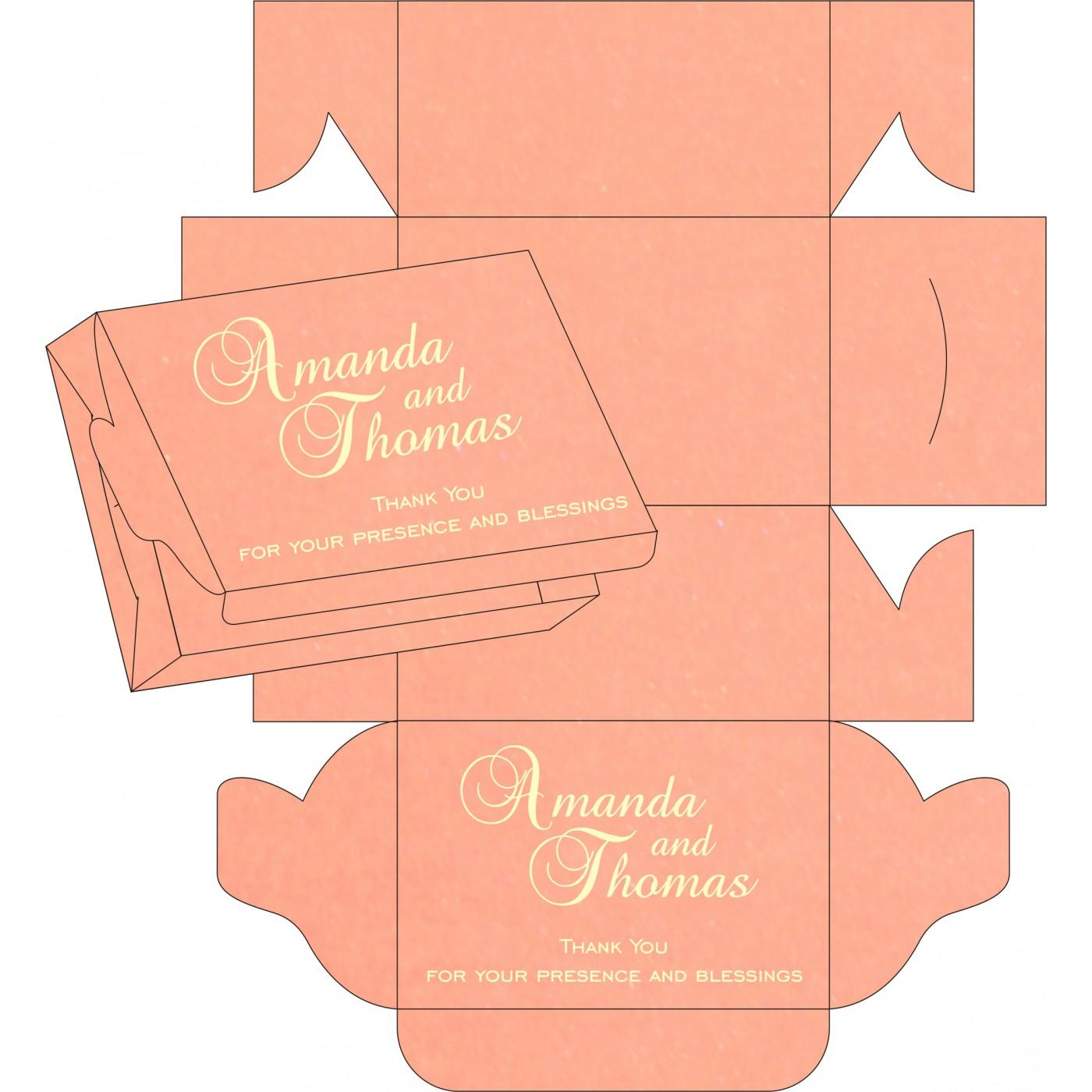 Cake Sweet Boxes : SB-8211J - 123WeddingCards
