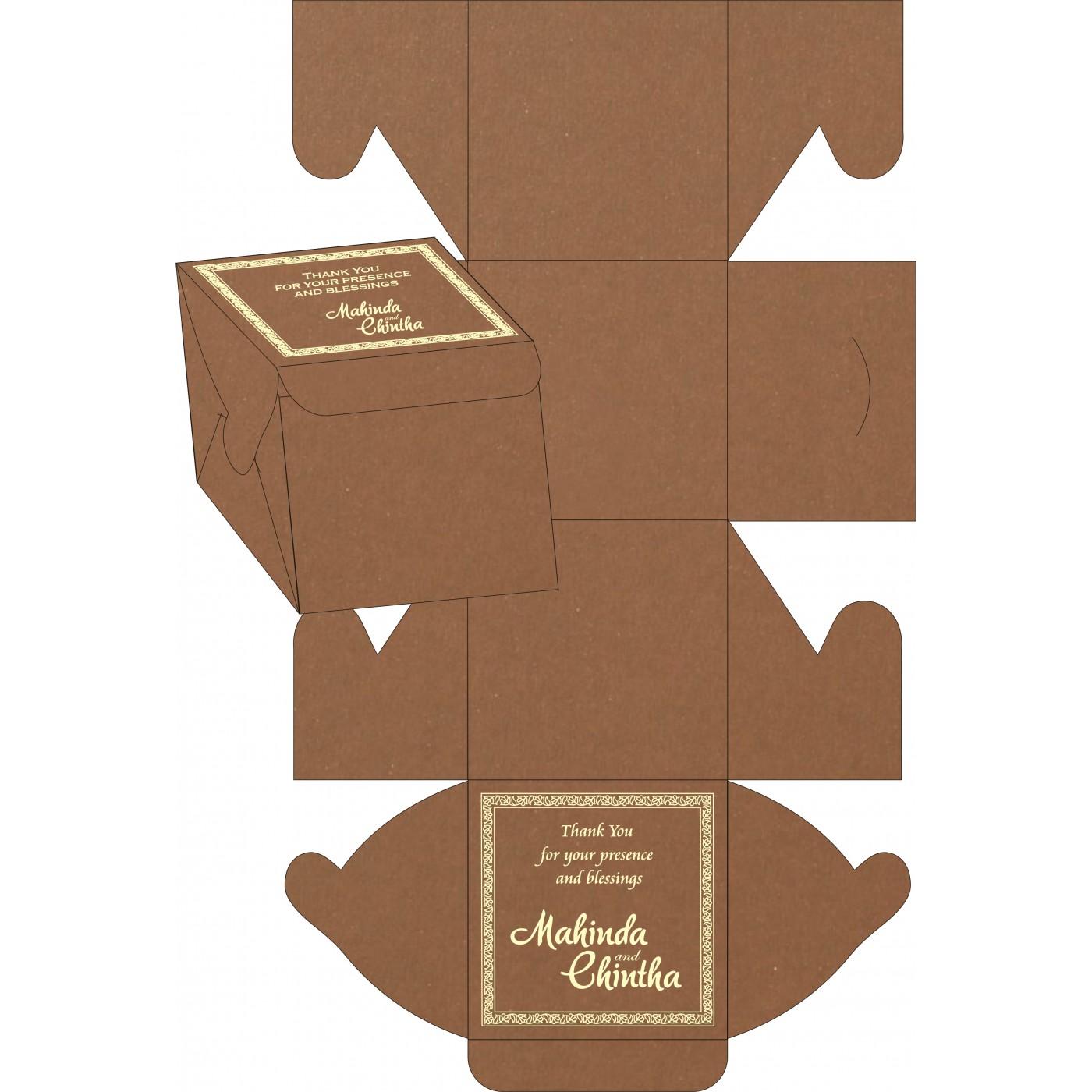 Cake Sweet Boxes : SB-8211L - 123WeddingCards