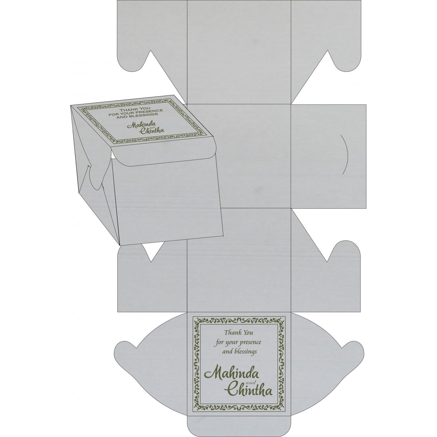Cake Sweet Boxes : SB-8214L - 123WeddingCards