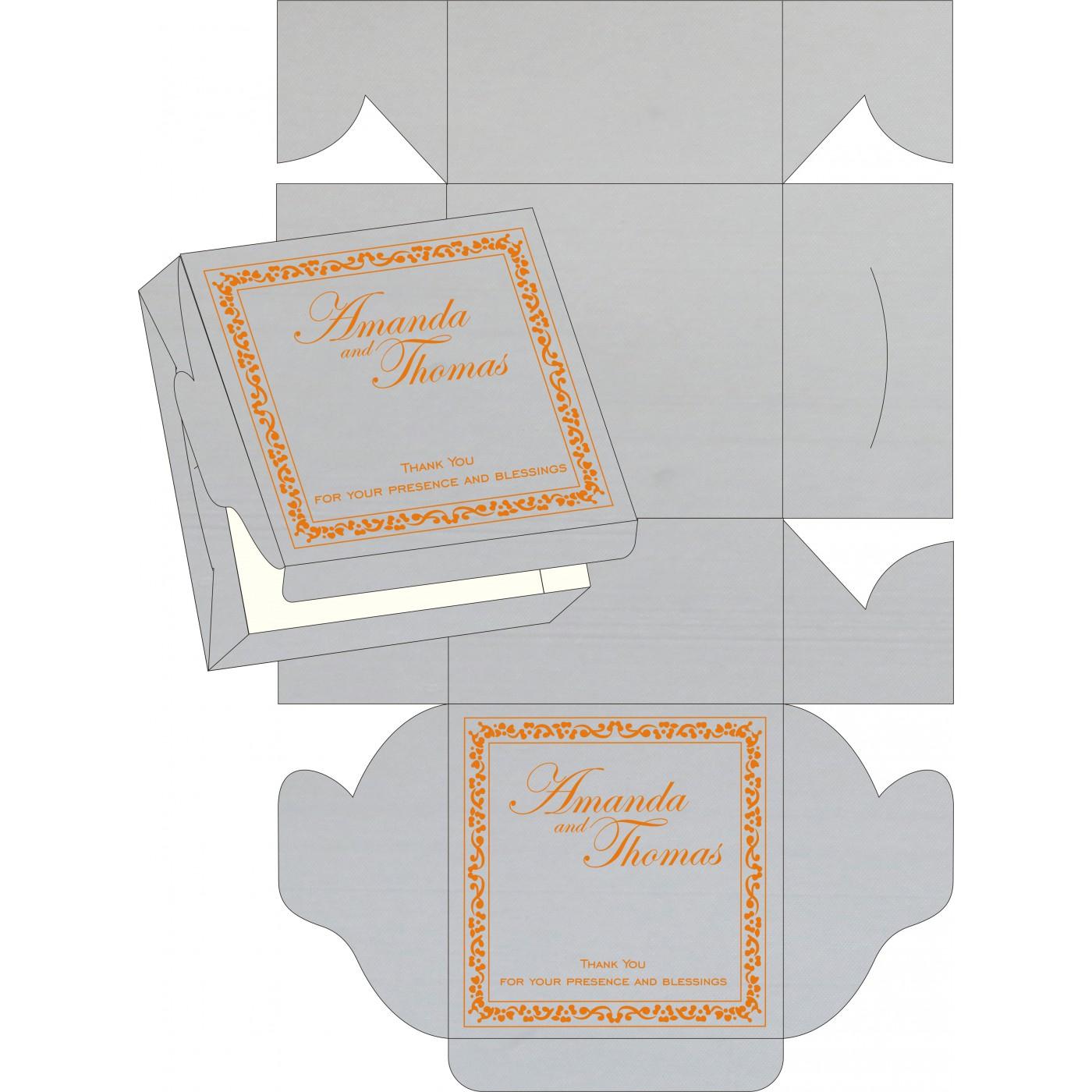 Cake Sweet Boxes : SB-8214M - 123WeddingCards