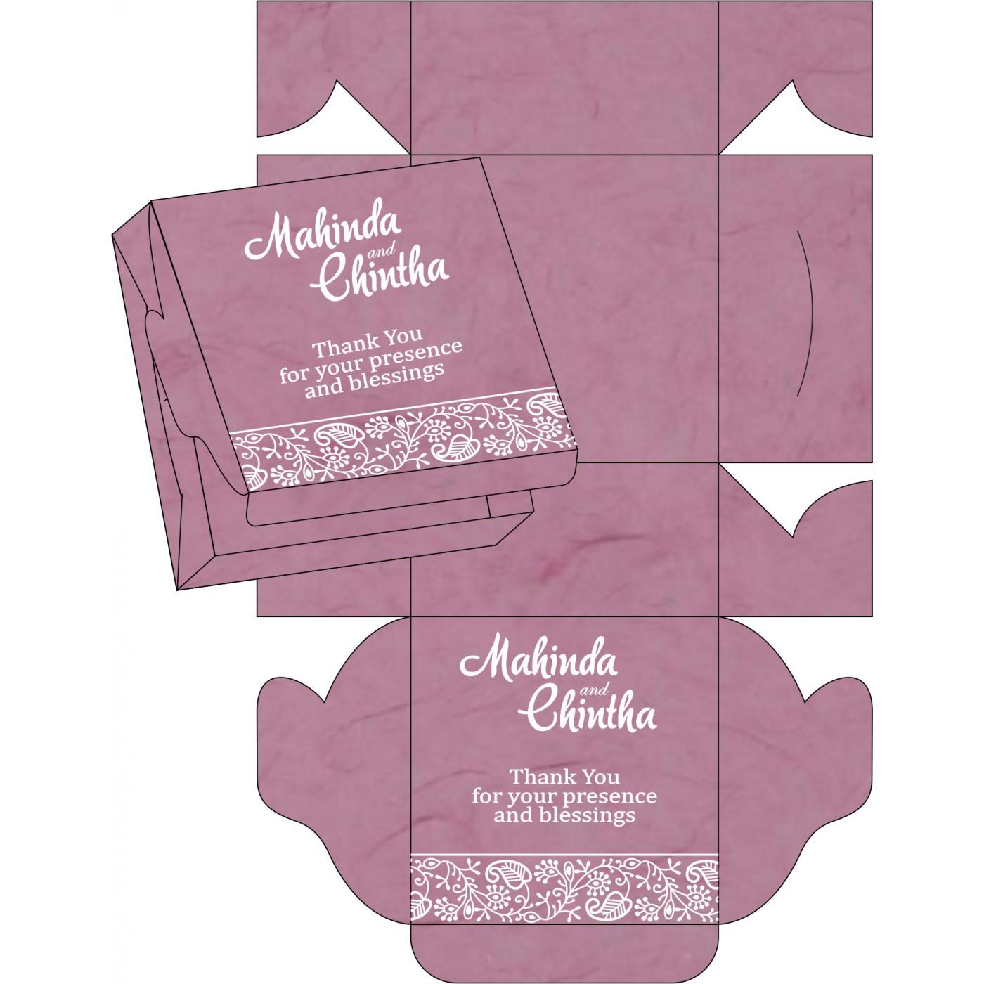Cake Sweet Boxes : SB-8215J - 123WeddingCards