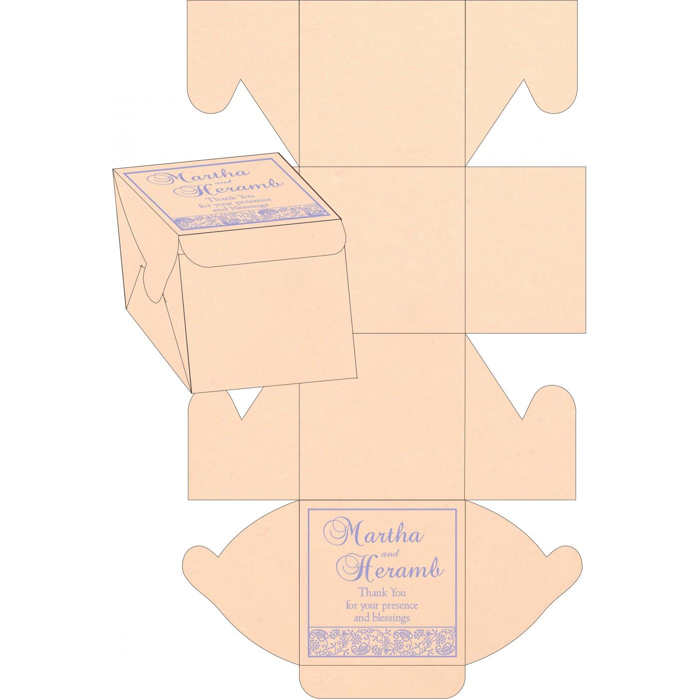 Cake Sweet Boxes : SB-8215M - 123WeddingCards