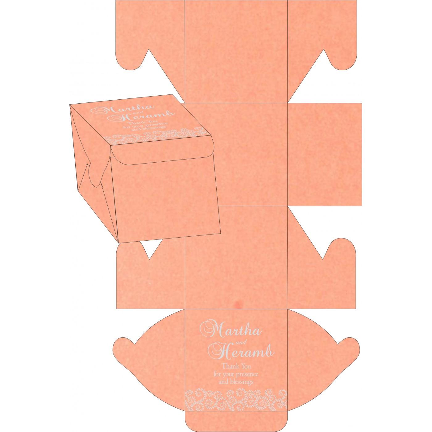 Cake Sweet Boxes : SB-8217E - 123WeddingCards