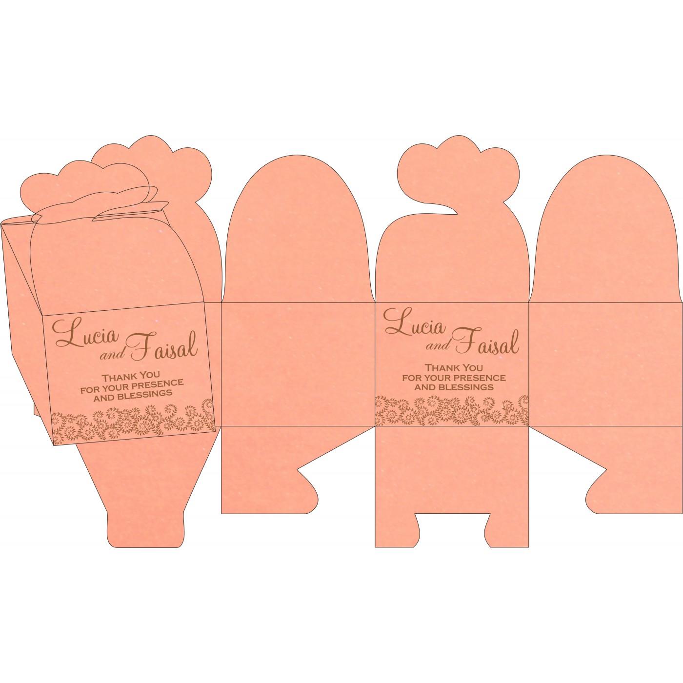 Cake Sweet Boxes : SB-8217N - 123WeddingCards