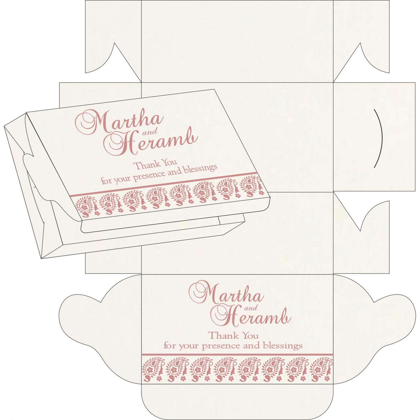 Cake Sweet Boxes : SB-8218J - 123WeddingCards