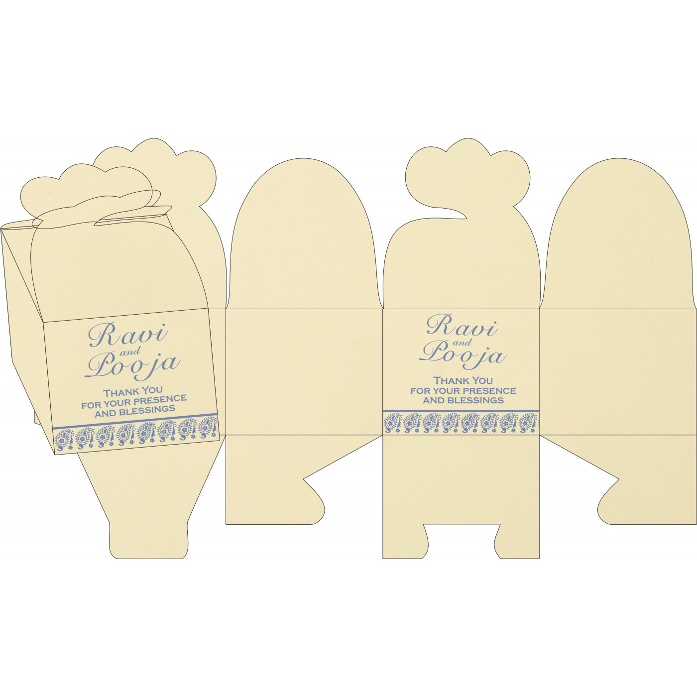 Cake Sweet Boxes : SB-8218K - 123WeddingCards